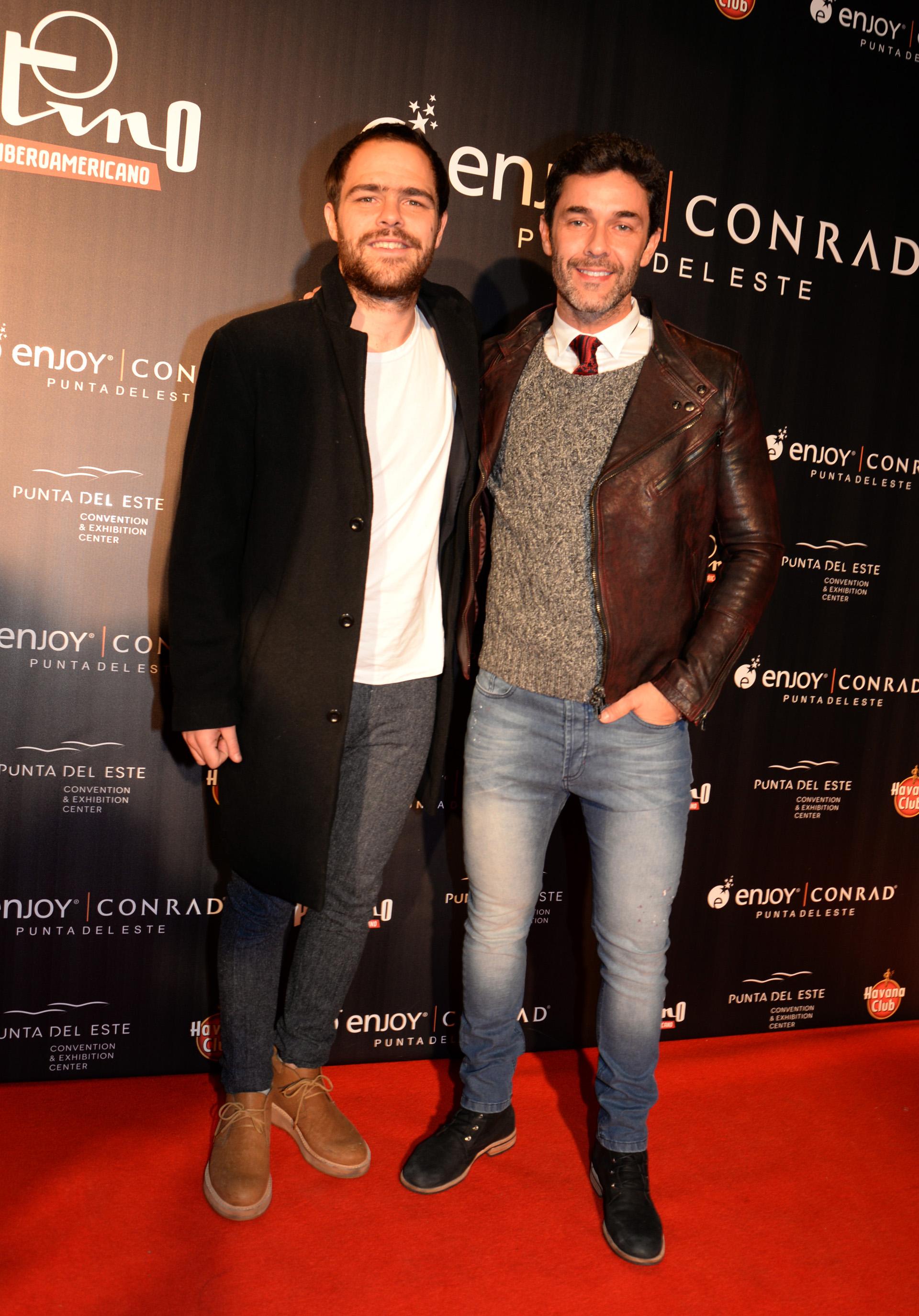Peter Lanzani y Mariano Martínez
