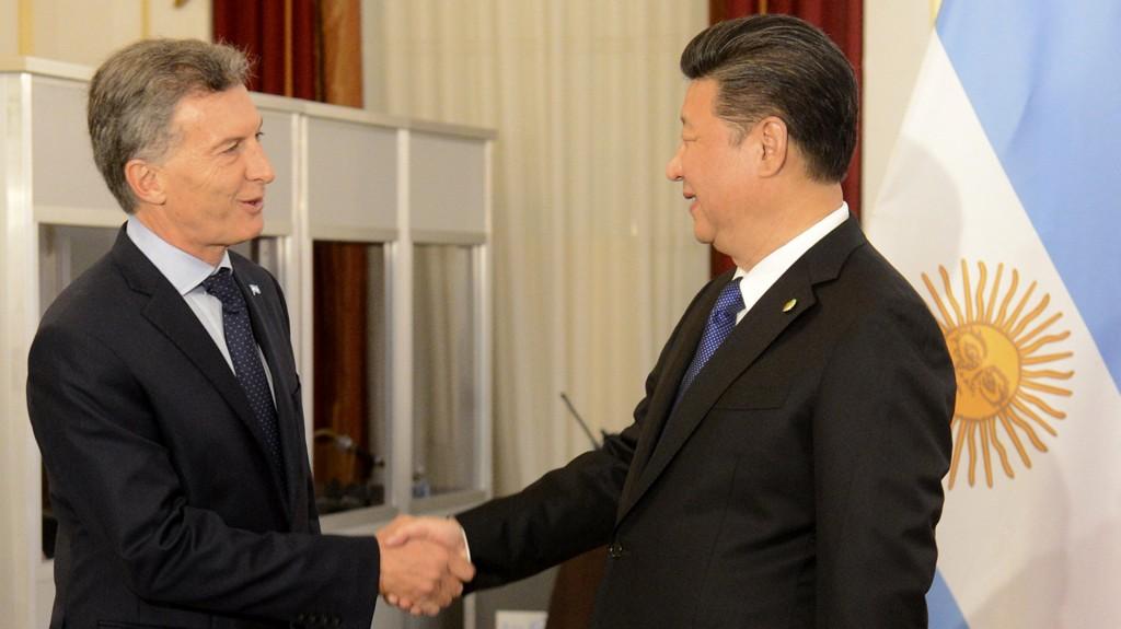 Mauricio Macri y su par Xi Jinpingtuvo su primer cumbre bilateral a comienzos de abril.(Presidencia)