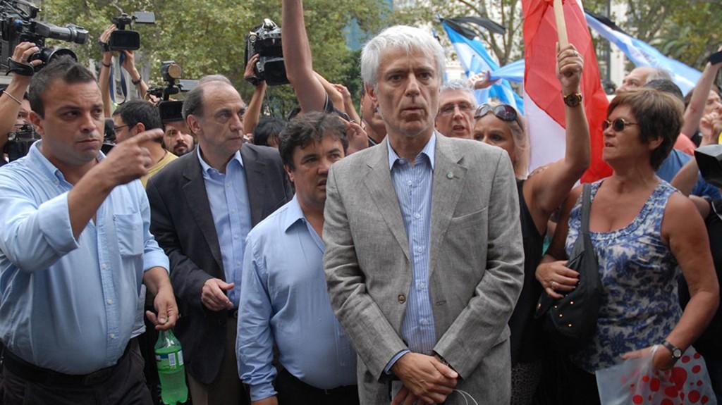 """El fiscal general Ricardo Sáenz destacó que el archivo de la denuncia de Nisman contra Cristina Kirchner no implica """"cosa juzgada"""". (NA)"""