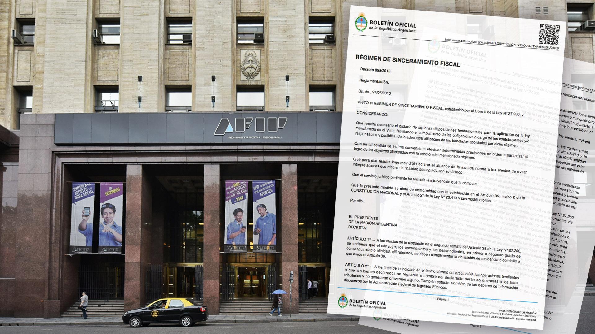El organismo definió los criterios de valuación de los activos que se incorporen al circuito formal de la economía, luego de publicado en el Boletín Oficial el decreto 895