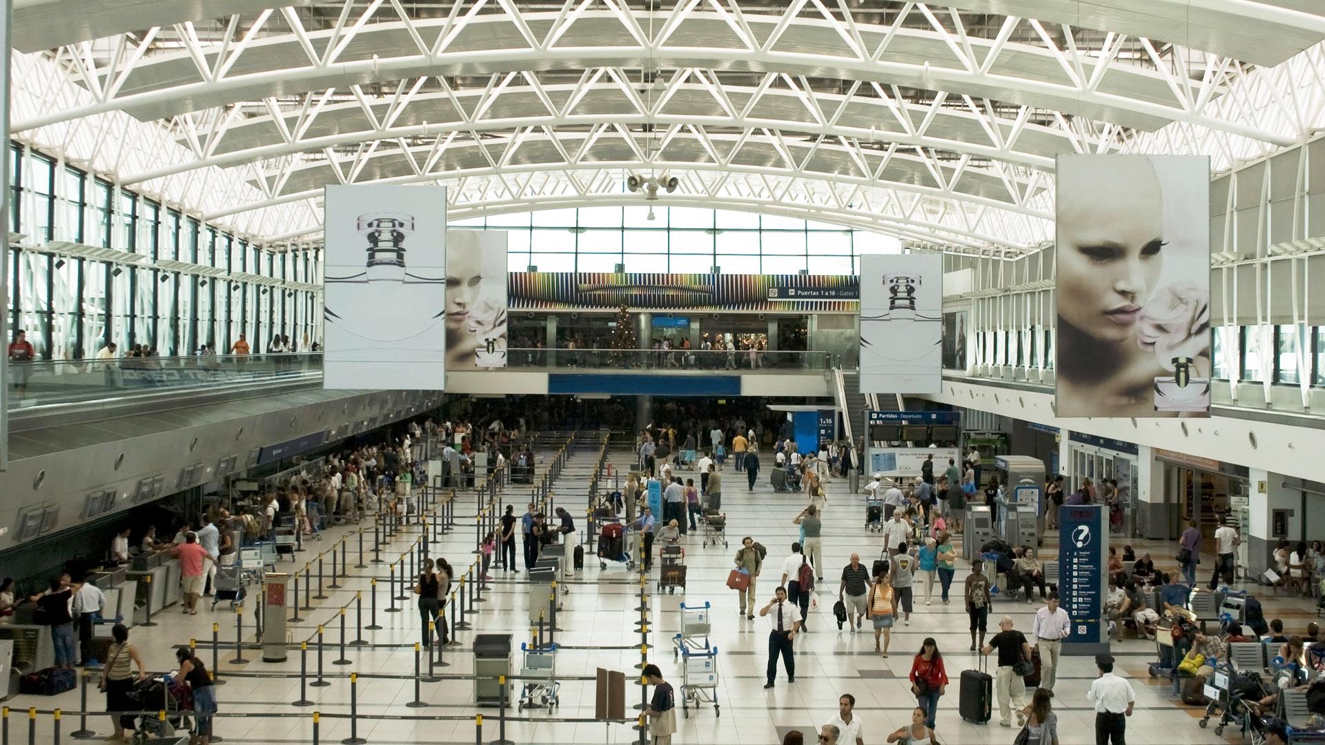 Aeropuerto de Ezeiza (Shutterstock)