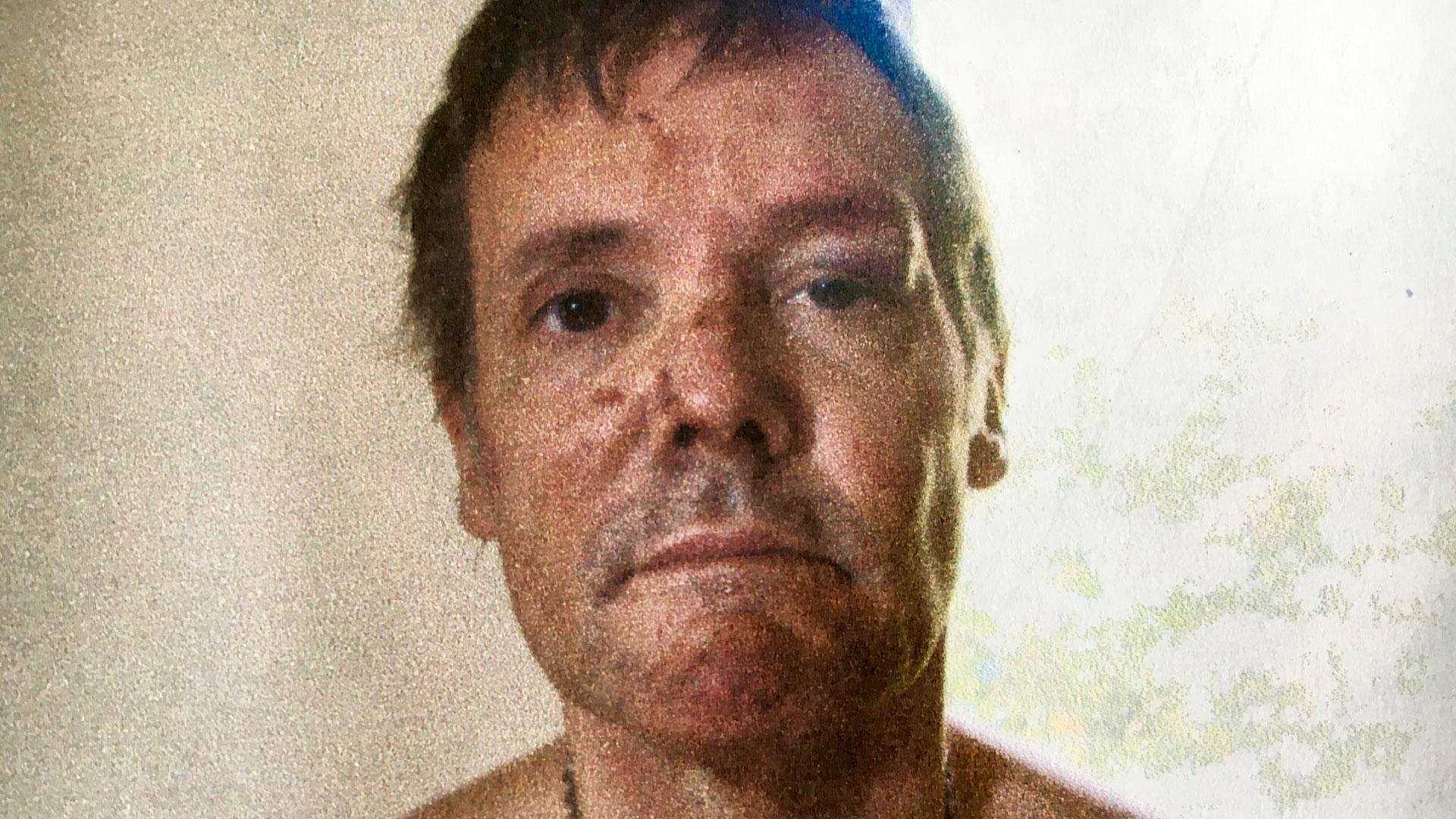 Fernando Farré, al momento de su detención (Télam)