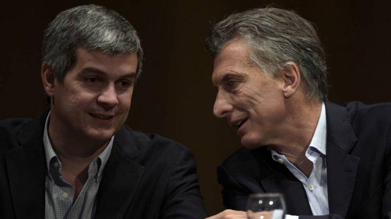 El jefe de Gabinete Marcos Peña insistió, como el presidente Mauricio Macri,en debatir una reforma laboral.