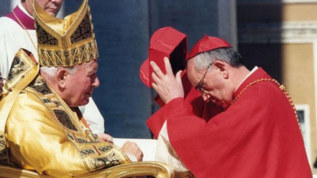 Ordenación cardenalicia de Jorge Mario Bergoglio, futuro papa Francisco
