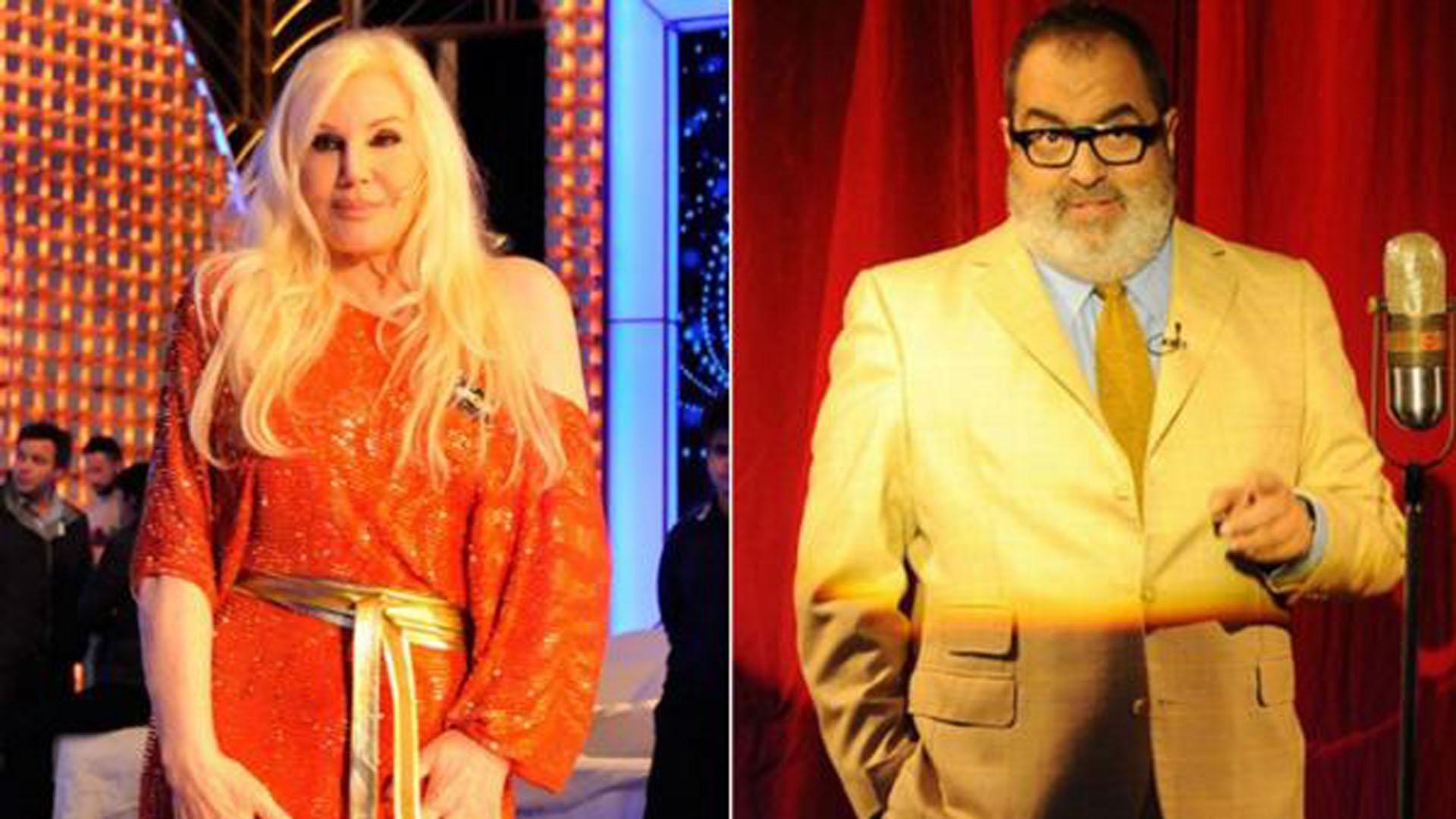 Susana Giménez y Jorge Lanata