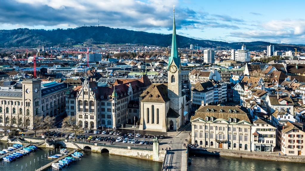 Zurich, Suiza (Shutterstock)