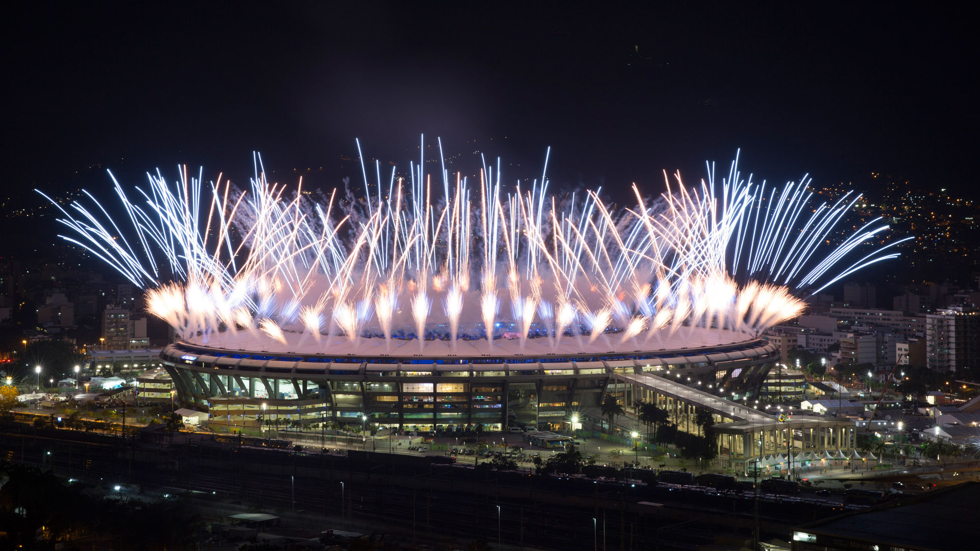 El Maracaná, epicentro de la ceremonia de apertura (AP)