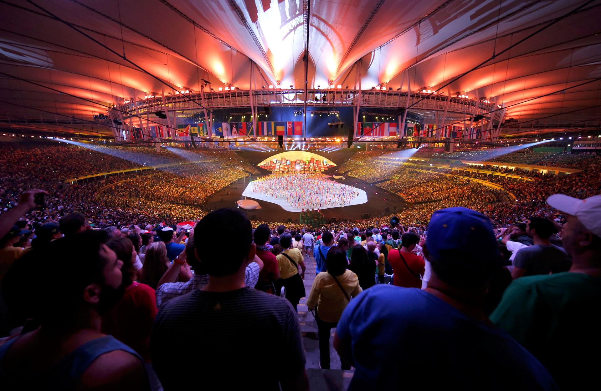 Unos 60 mil espectadores colmaron el estadio Maracaná (Reuters)