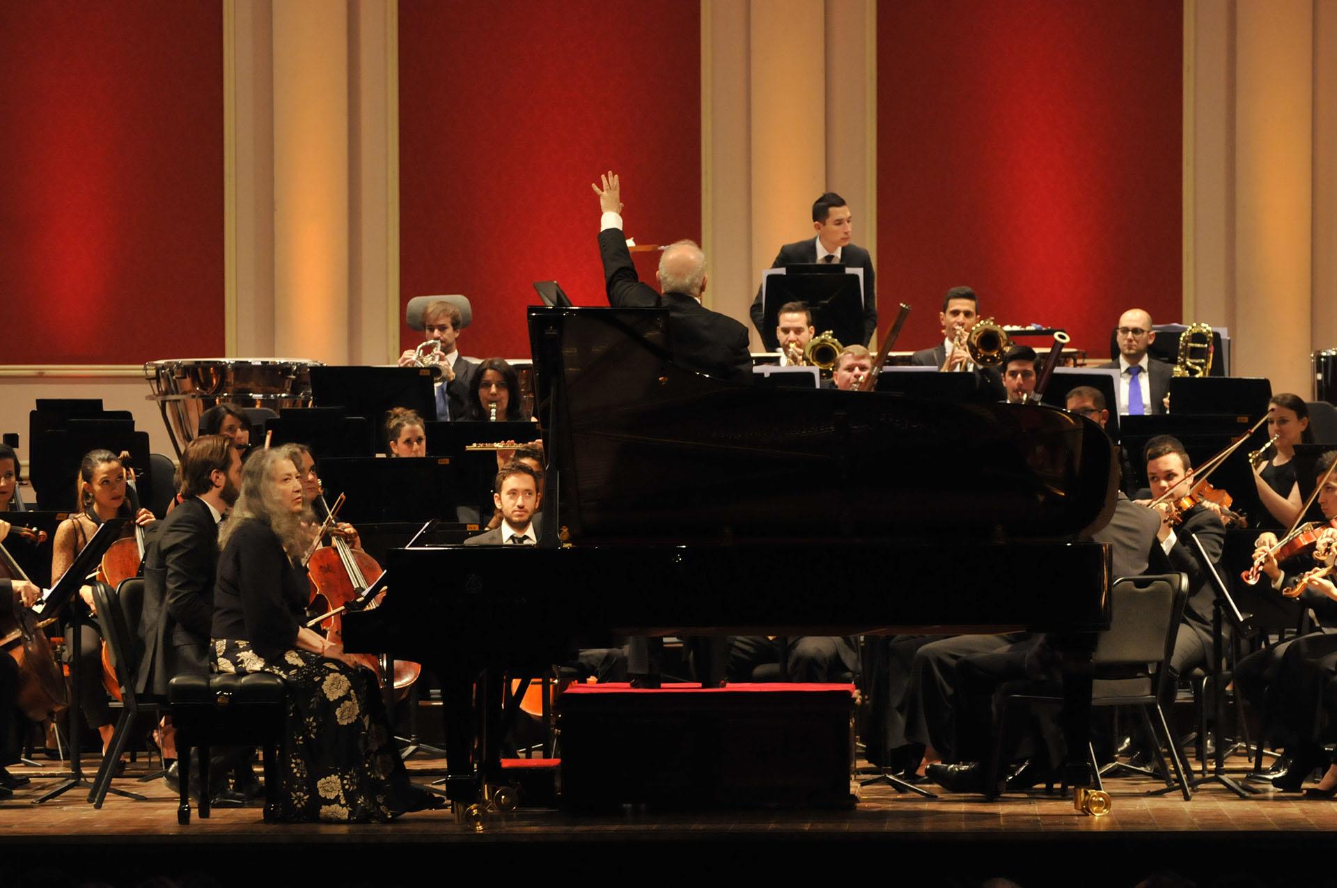 Barenboim y Argerich: talento supremo en el Teatro Colón - Infobae