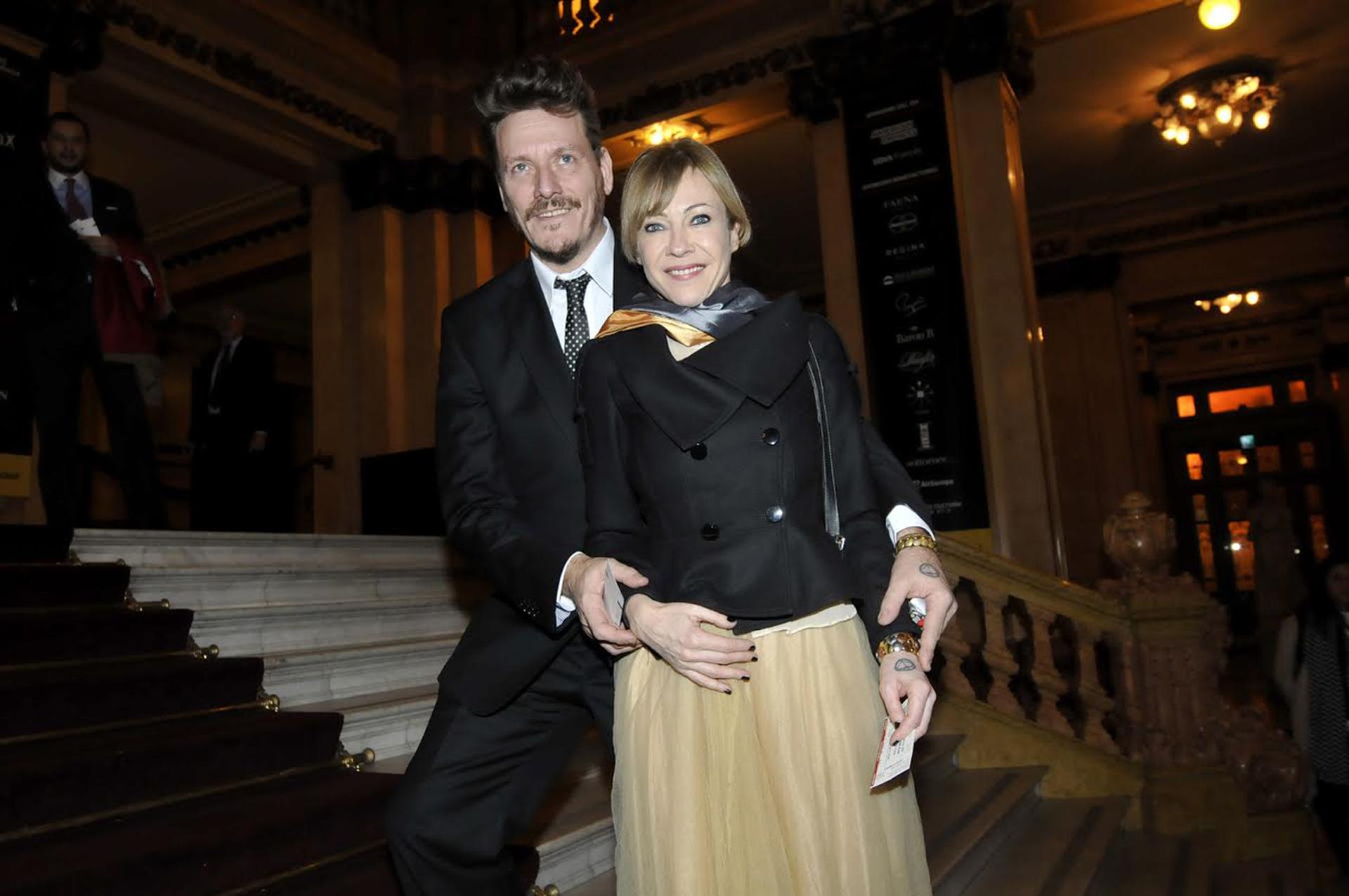 Javier Malosetti y Inés Estevez