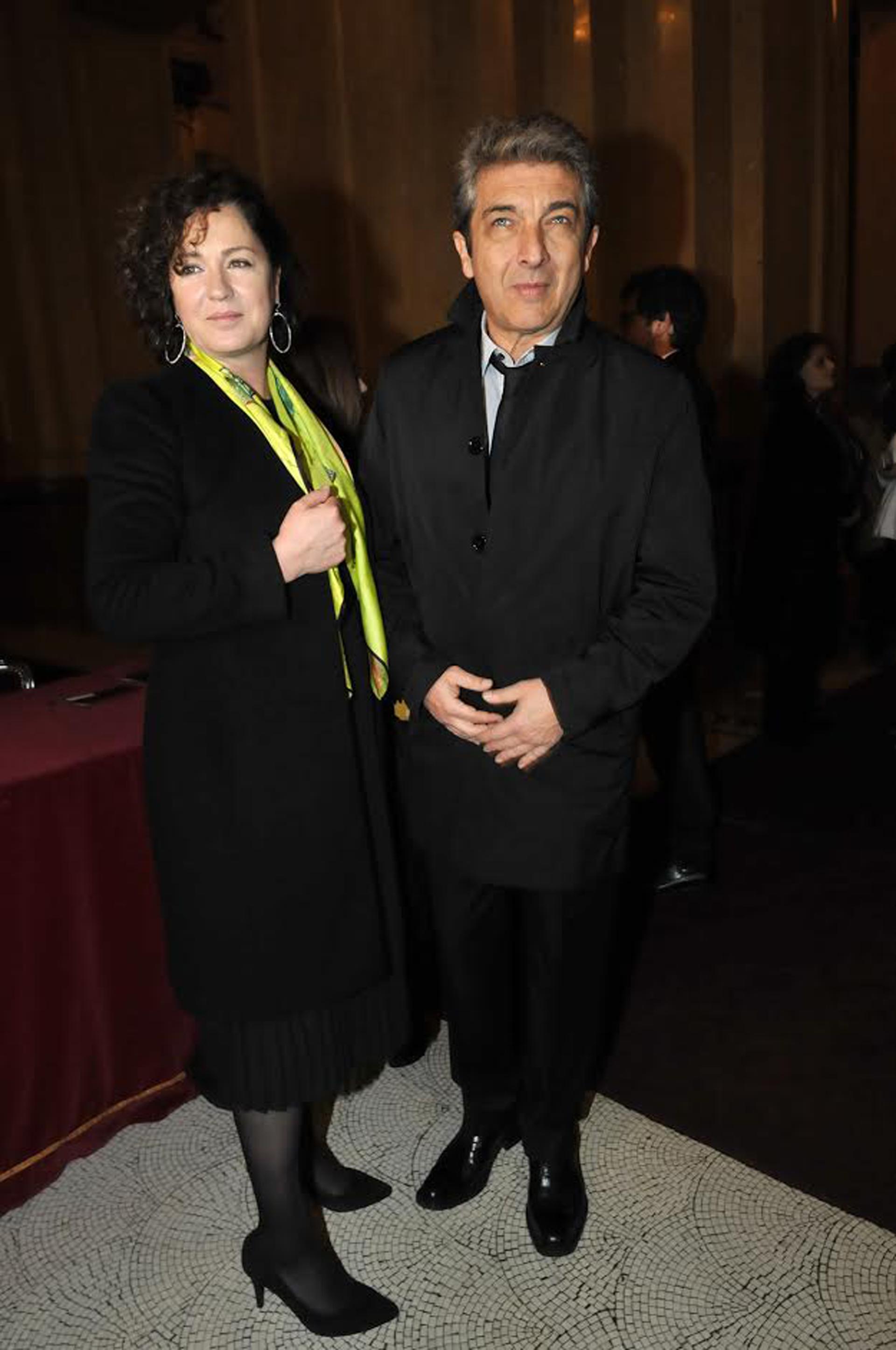 Ricardo Darín y su mujer Florencia Bas