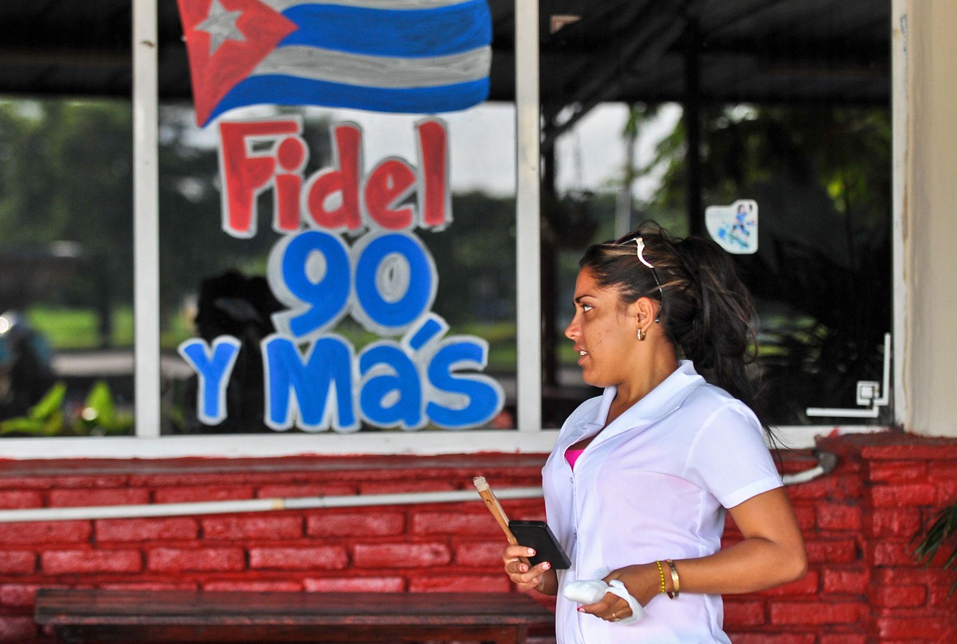 Fue enviado a estudiar con los jesuitas y posteriormente a la Universidad de La Habana, donde se recibió de abogado (AFP)