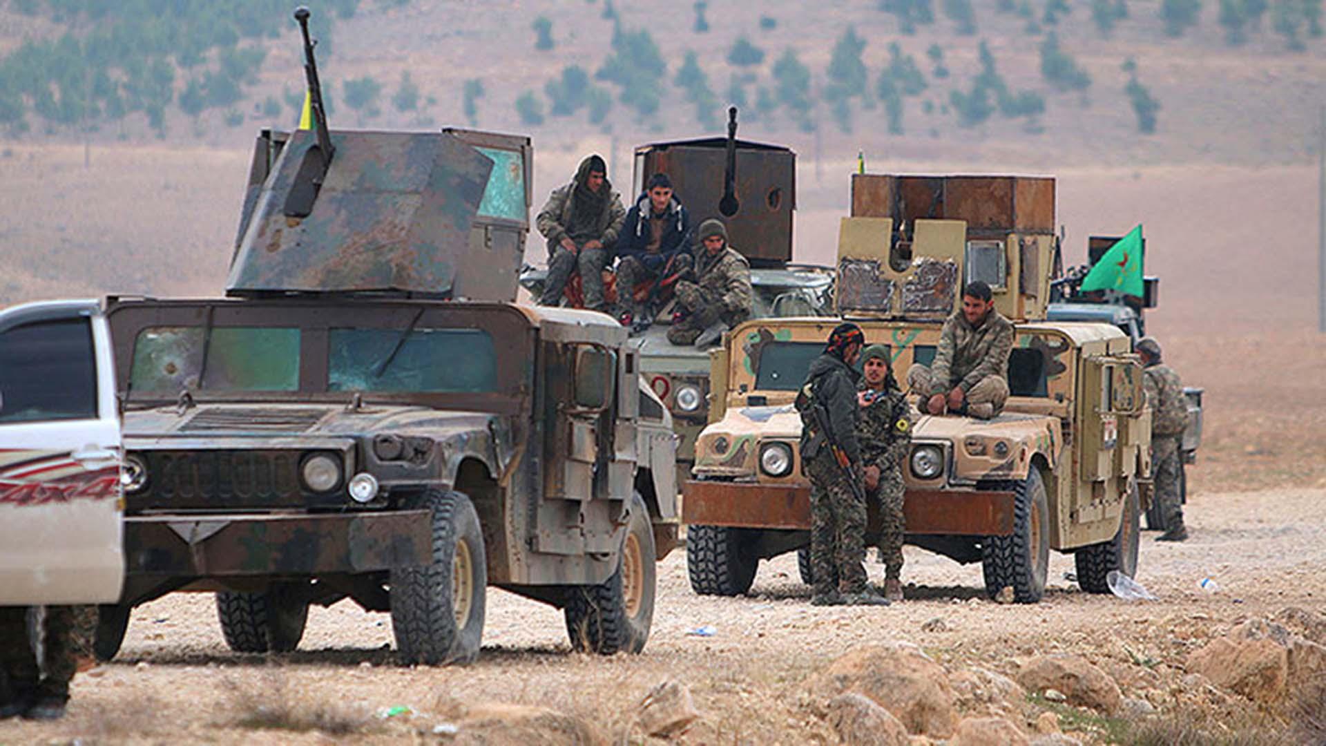 kurdos siria ISIS