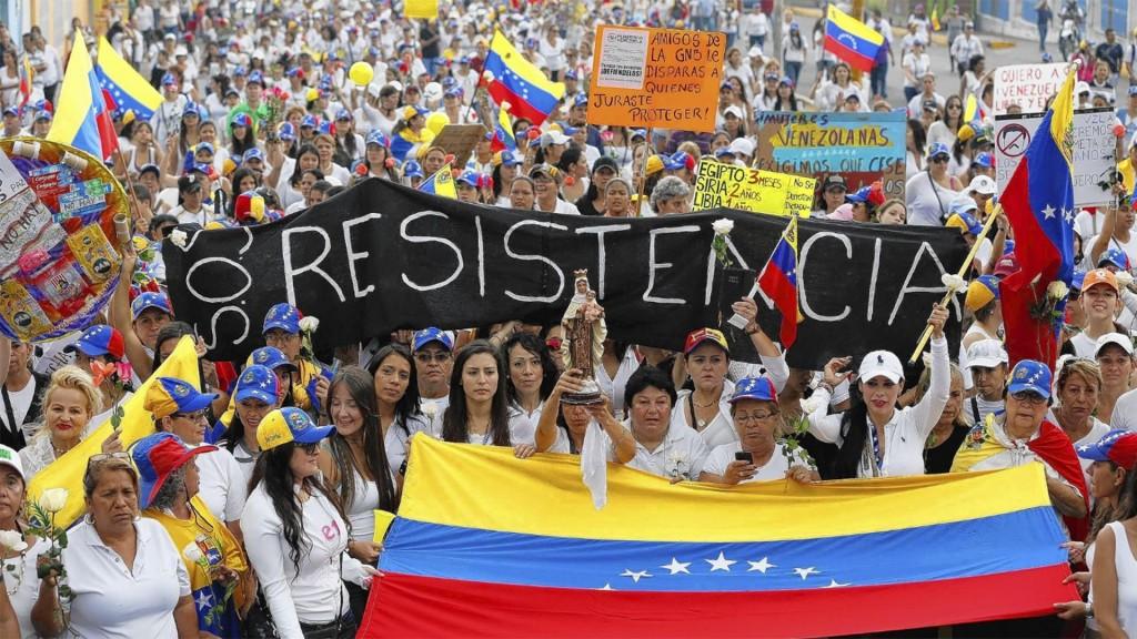 La crisis en Venezuela y el colapso económico en Venezuela generan la mayor preocupación en la Casa Blanca