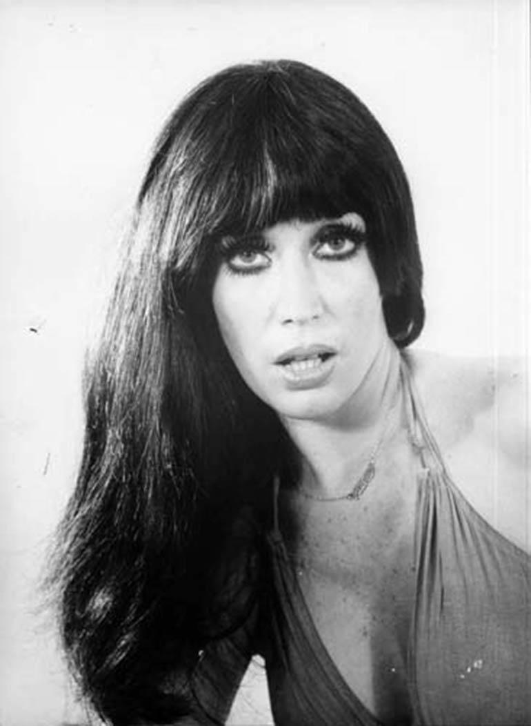 Moria en la década del 70, en donde protagonizaba películas y revistas