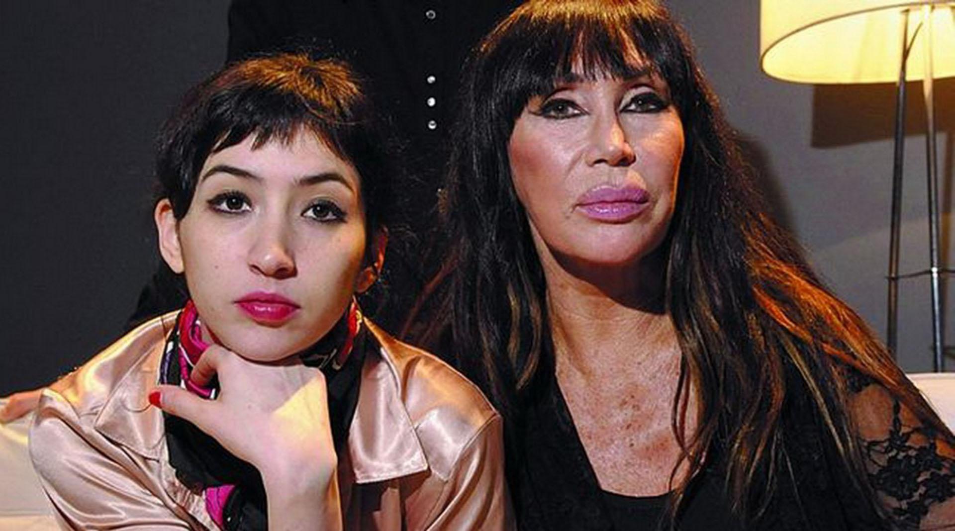 Moria Casán y su hija Sofía Gala