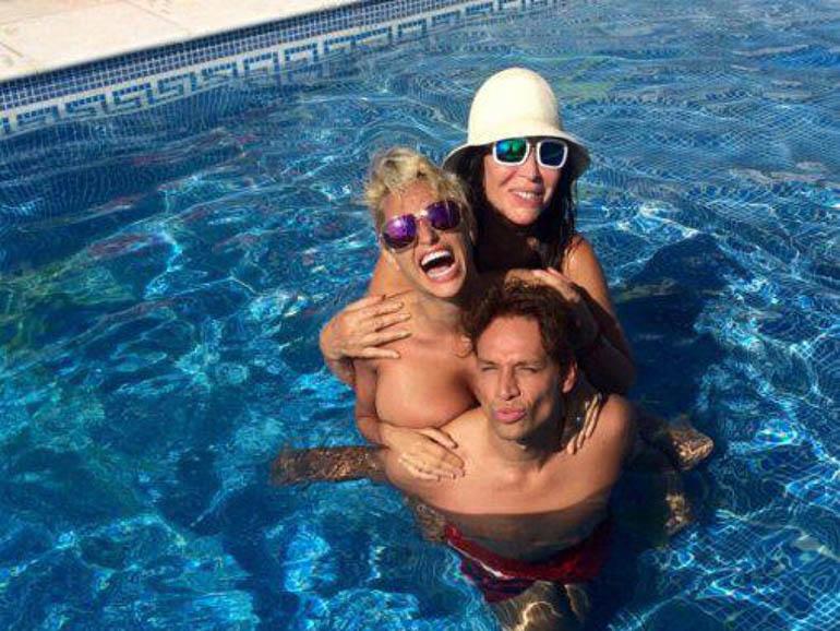 Moria, Vicky Xipolitakis y Galo Sotto