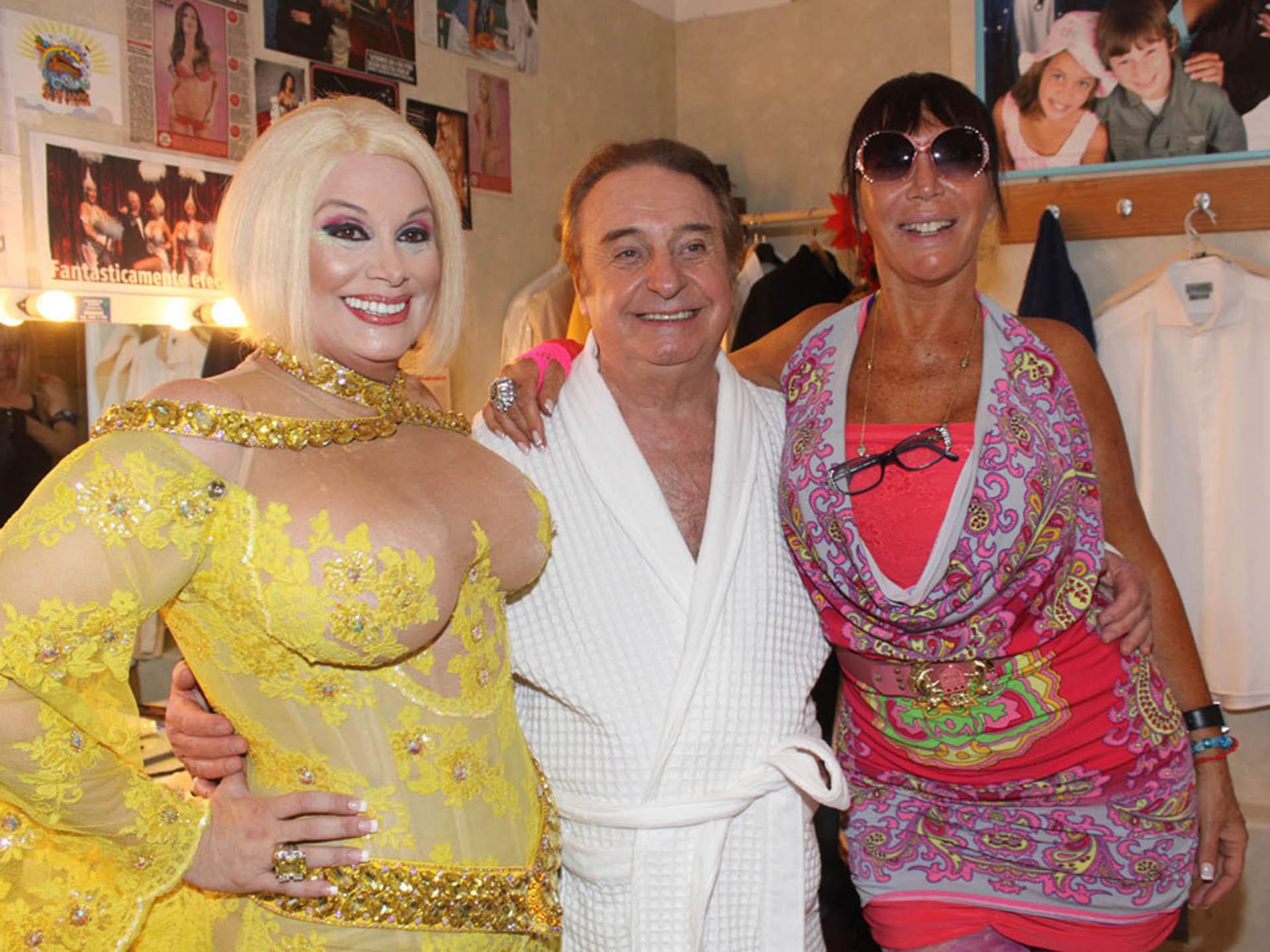 Carmen Barbieri, Santiago Bal y Moria Casán