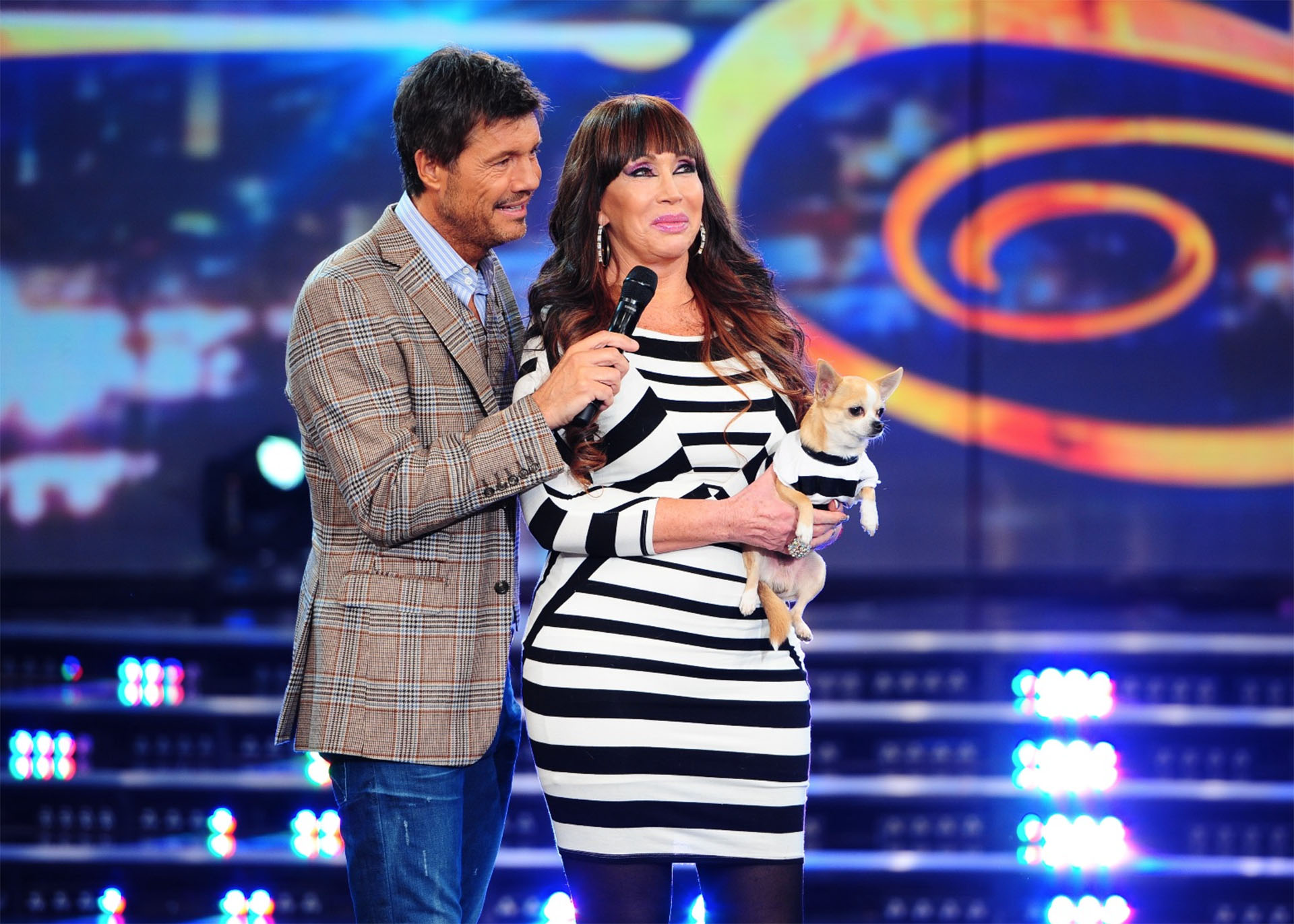Moria Casán en ShowMatch