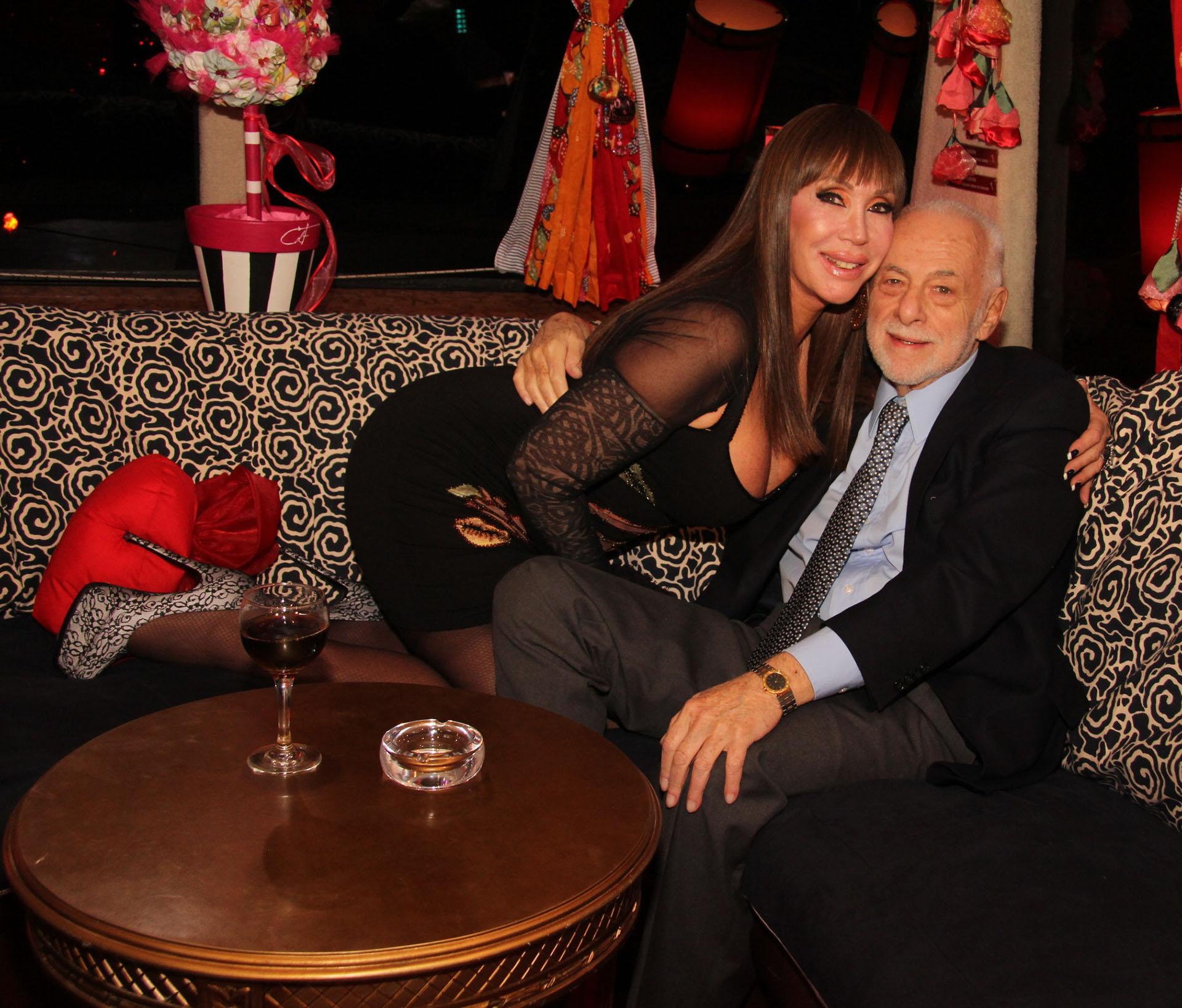 Moria Casán y Gerardo Sofovich