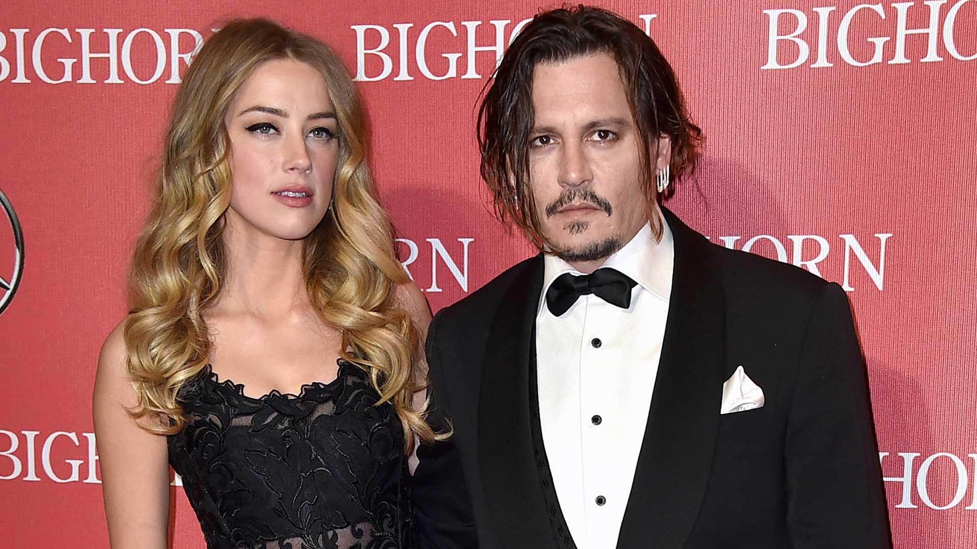 Amber Heard y Johnny Depp se divorciaron tras 15 meses de matrimonio (AP)