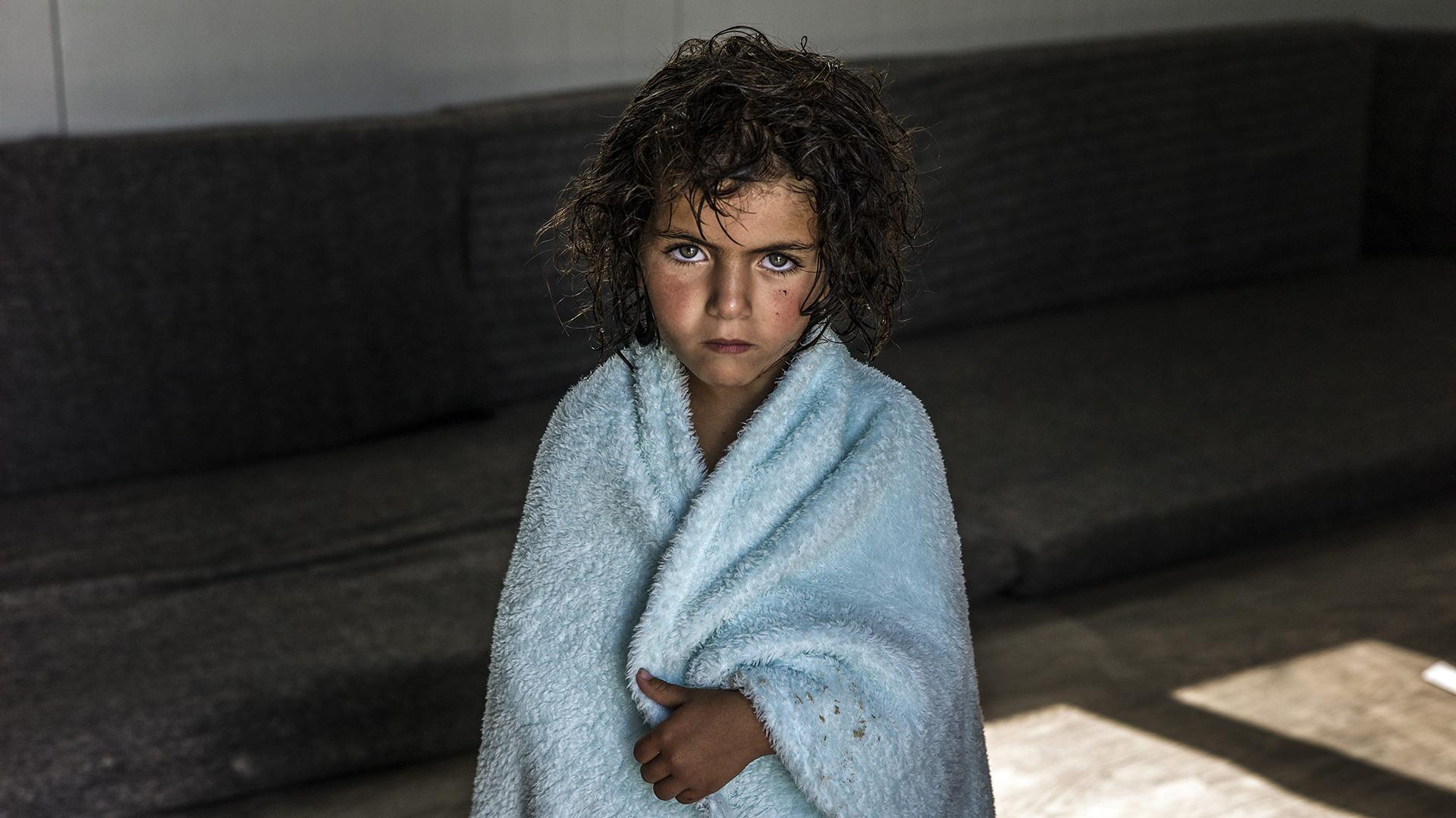 Un niños refugiado sirio, en el campamento jordano de Zaatari / (UNHCR)