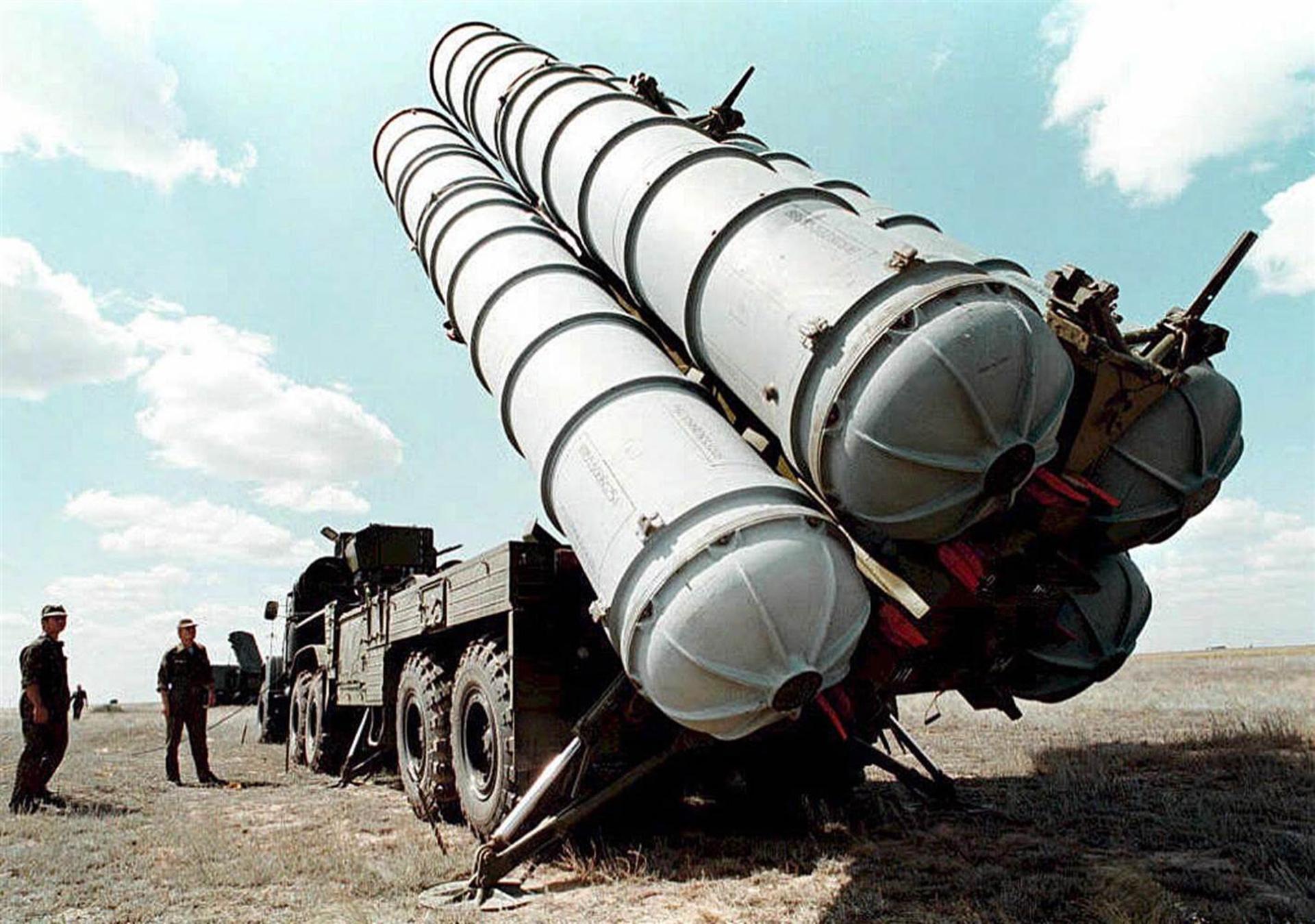 Un sistema antimisil ruso utilizado por el ejército iraní