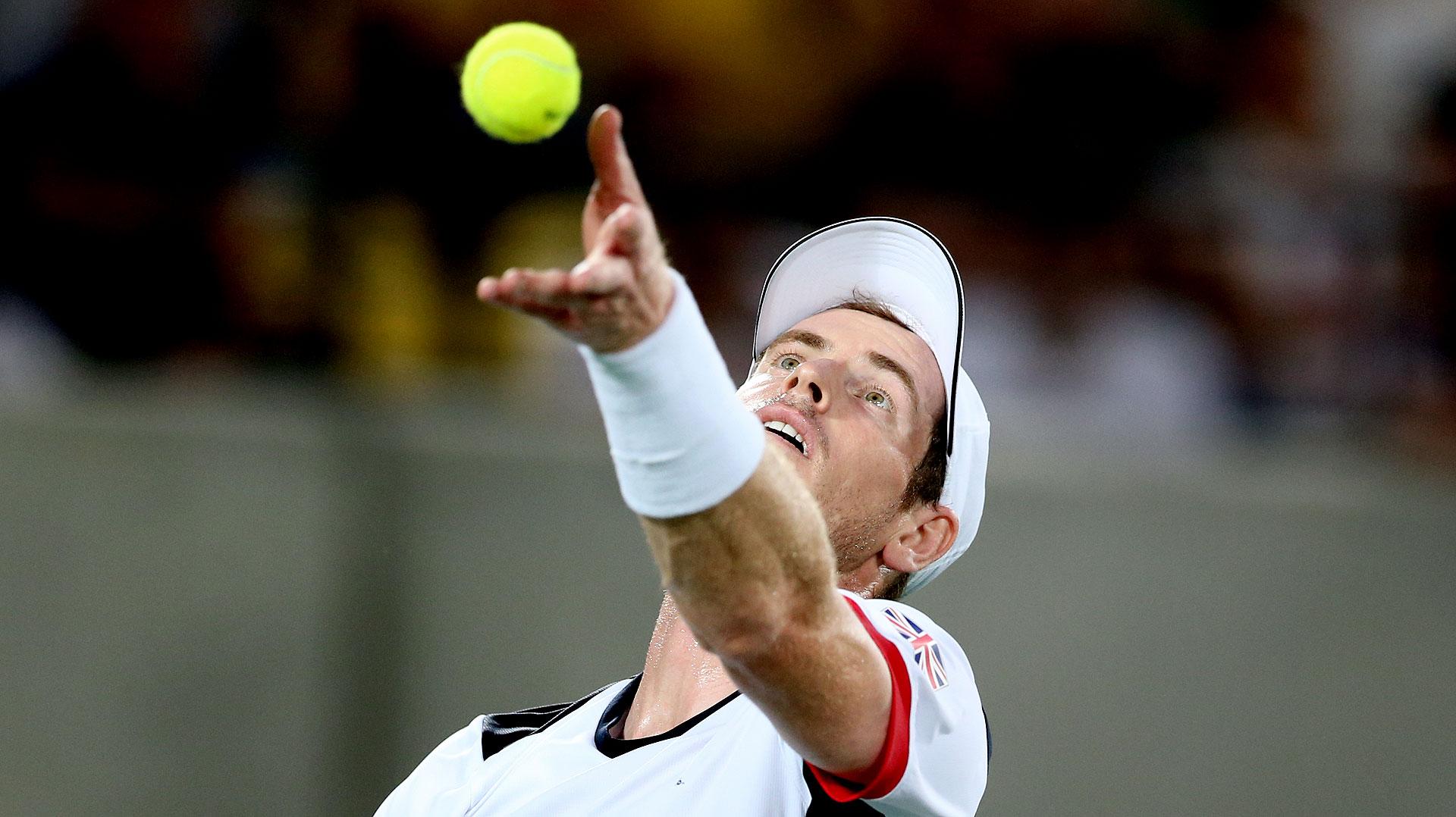 Andy Murray venció a Juan Martín del Potro en 4 sets y se llevó la medalla dorada en singles (Nicolás Stulberg)