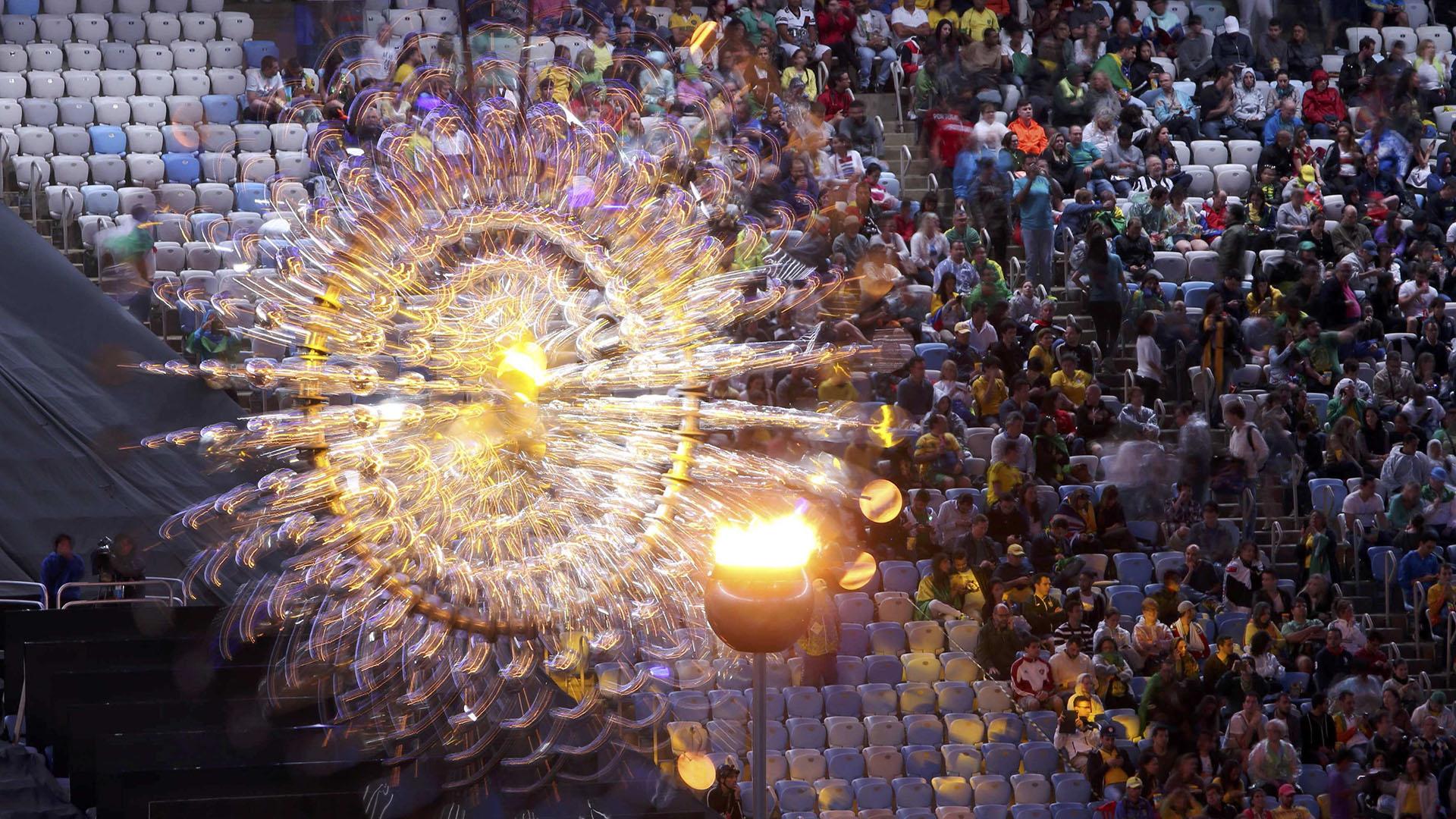 El pebetero iluminó Río de Janeiro durante 16 días (Reuters)