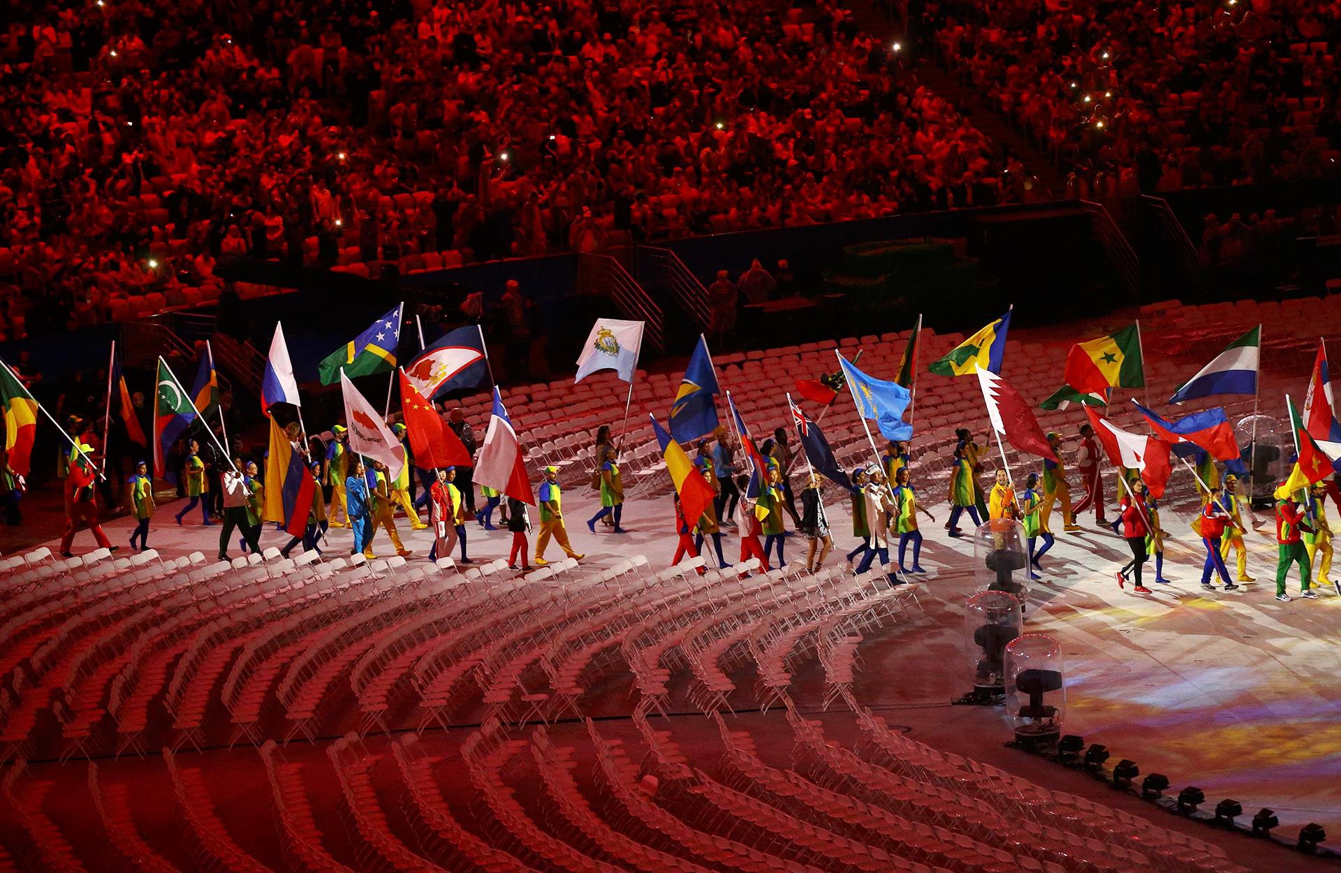 206 países y más de 11.000 deportistas formaron parte de Río 2016