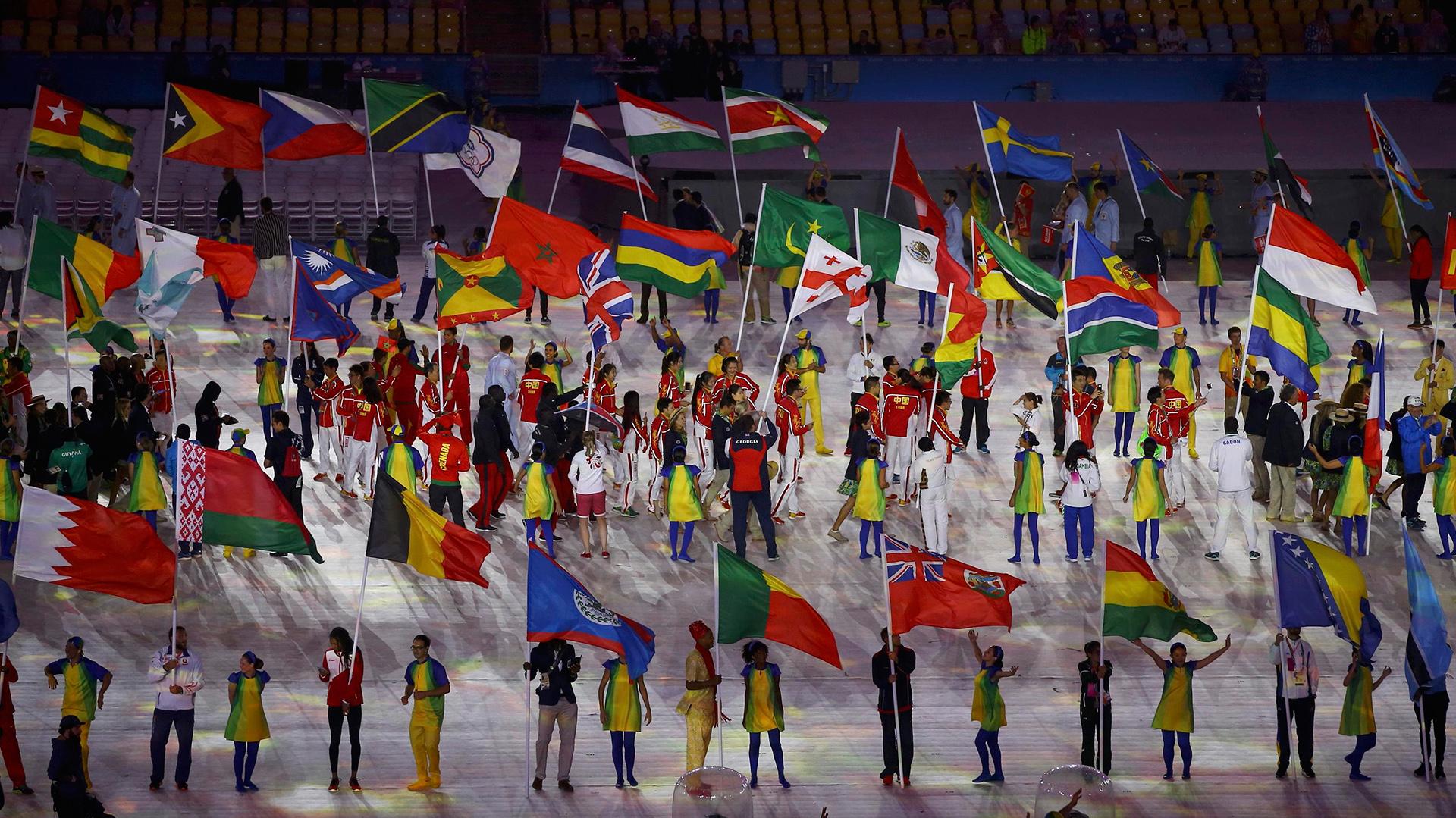 """Bajo el lema """"Un mundo nuevo"""" estos Juegos Olímpicos buscaron transmitir la paz entre las naciones (Reuters)"""