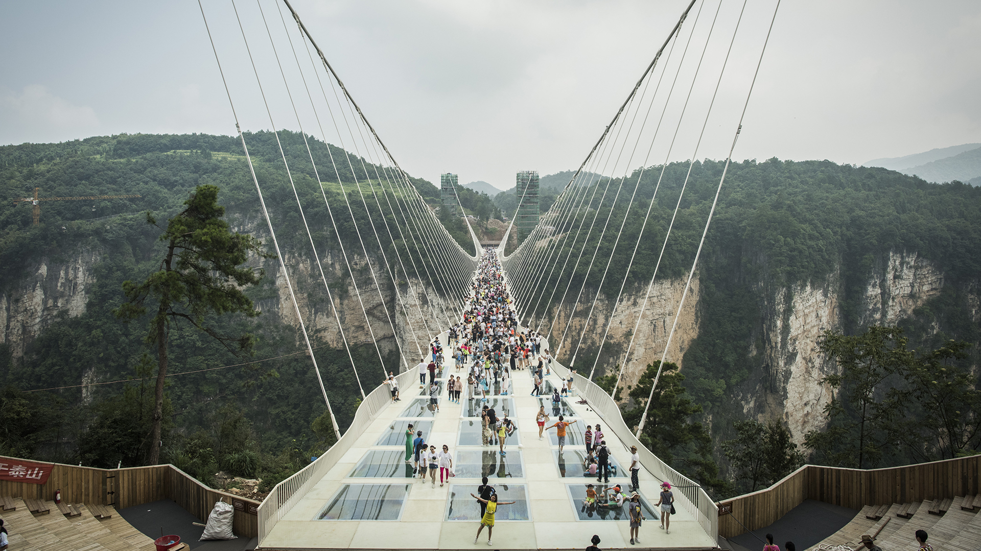 Resultado de imagen para puente transparente china