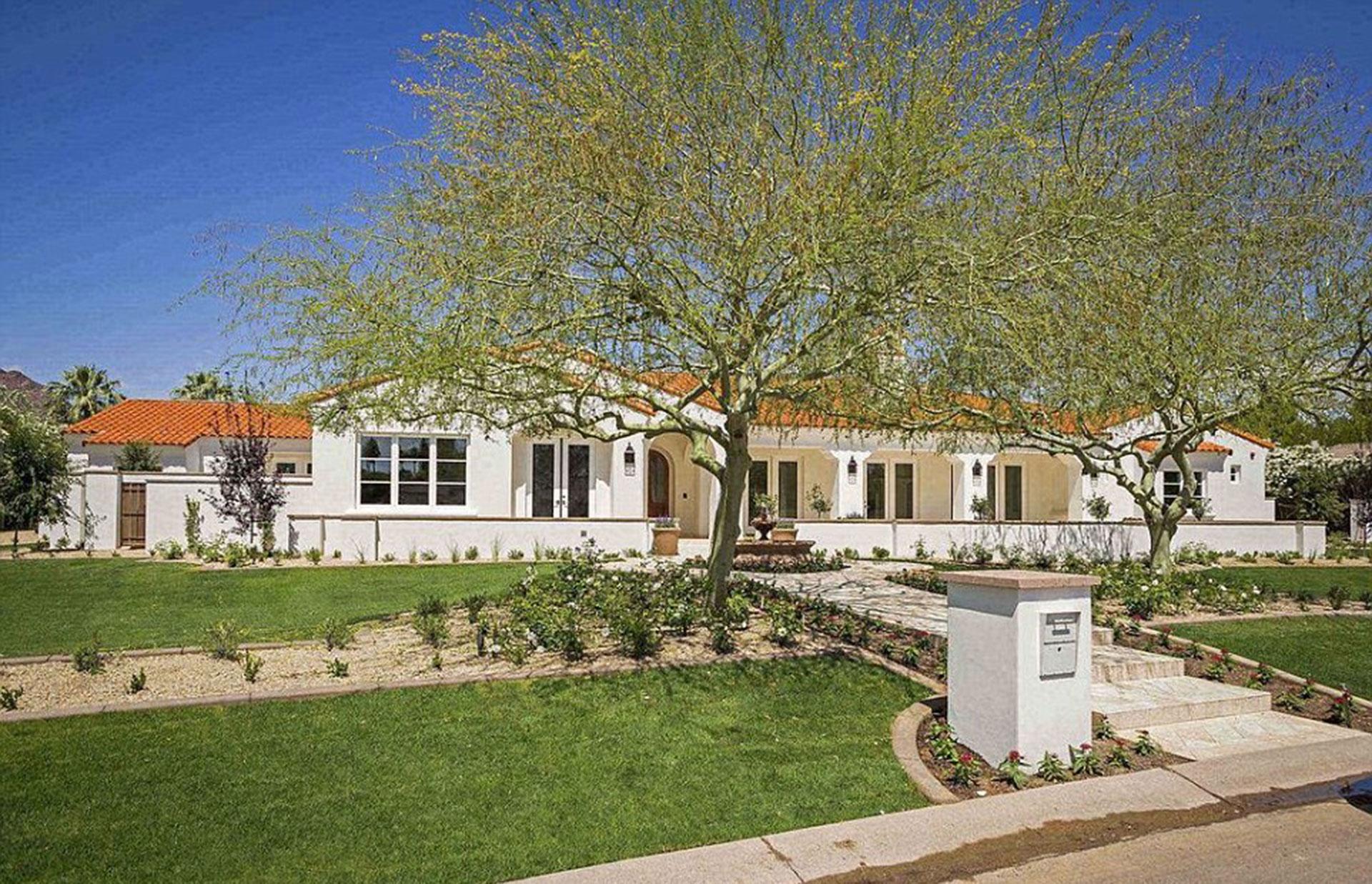 La nueva mansión de Michael Phelps en Scottsdale, Arizona