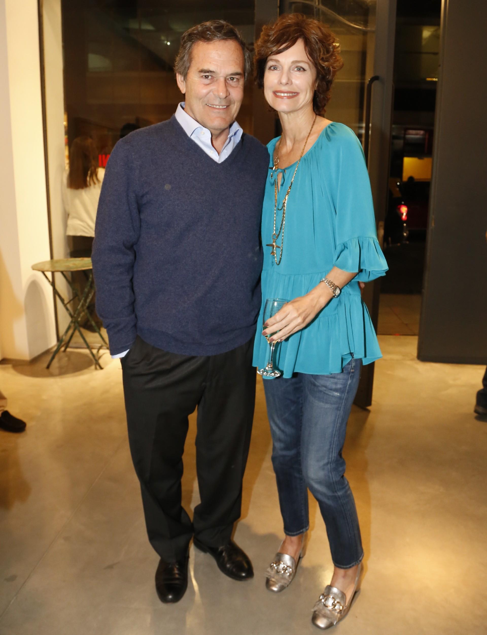 Flavia Martini y su marido Hernán Cibils