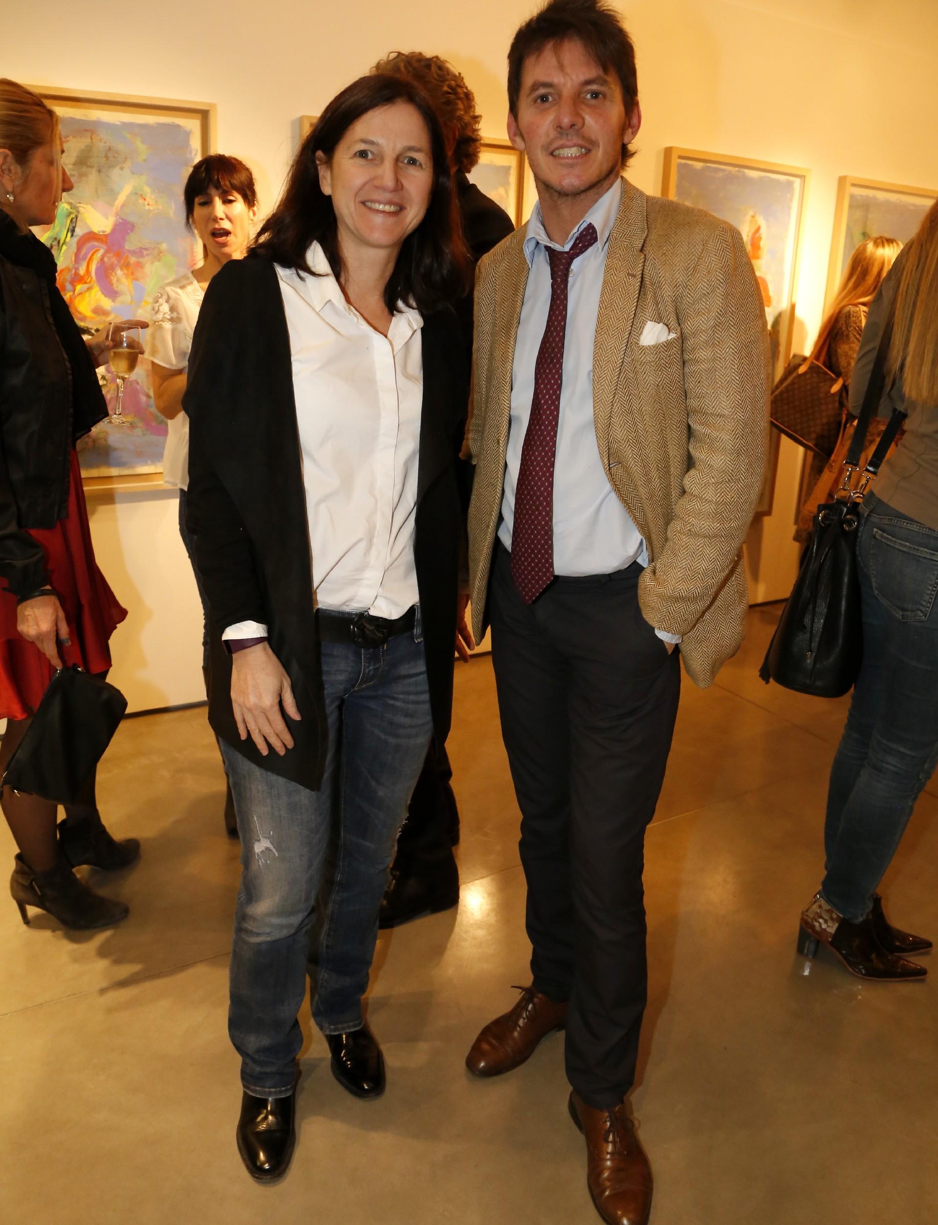 Clara Laferrere y Gerard Confalonieri