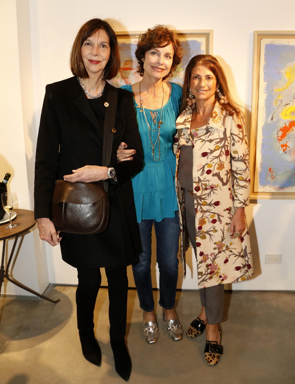 Laura Ocampo, Flavia Martini y Mónica Melhem