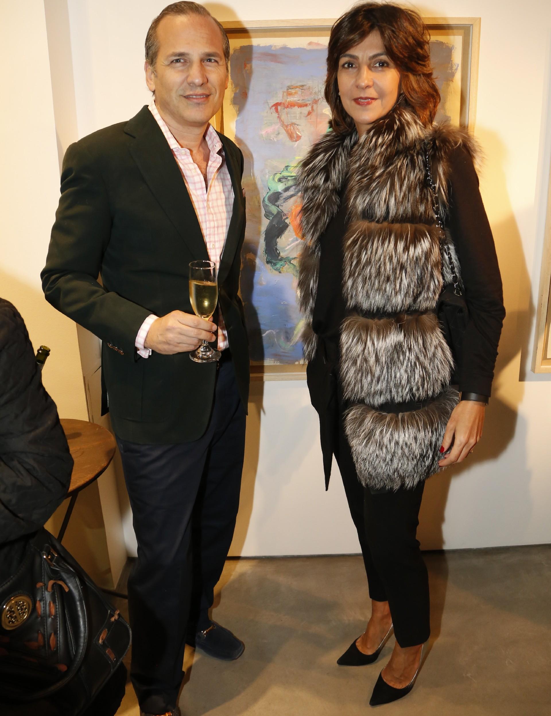 Javier Iturrioz y Evangelina Bomparola