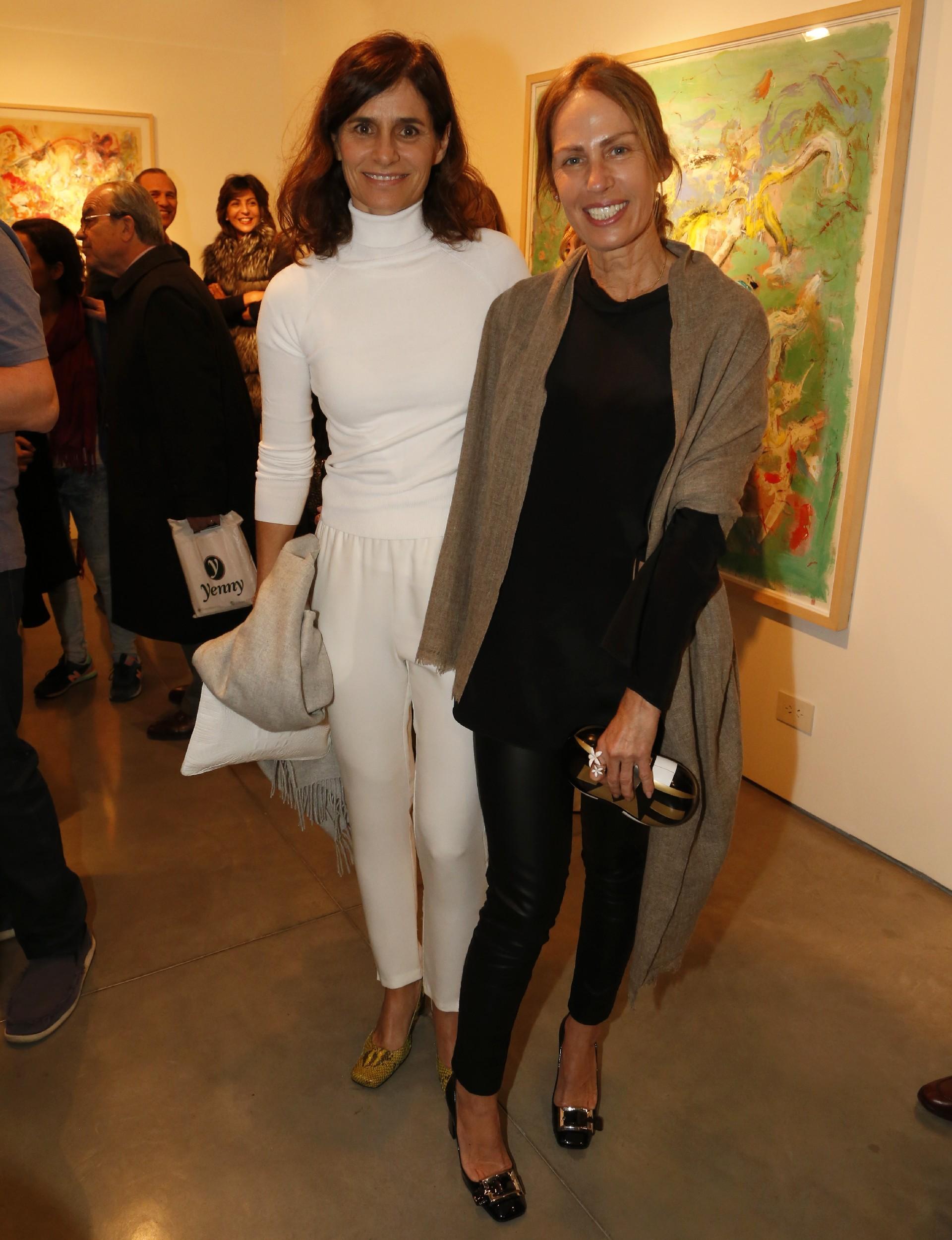Paula Cahen D'Anvers y Ana Luisa Bruchou