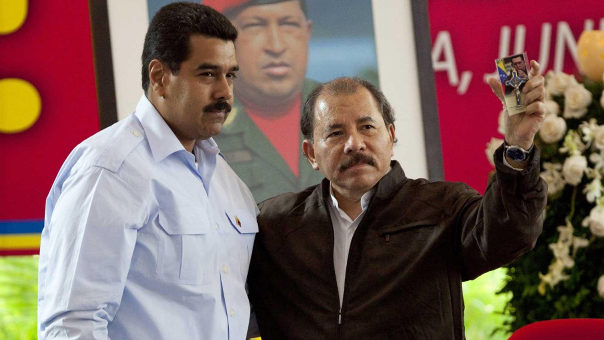 Los regímenes de Nicolás Maduro y Daniel Ortega violan los derechos humanos en Venezuela y Nicaragua (EFE)
