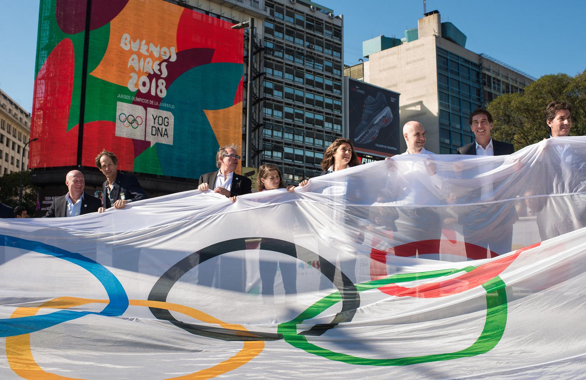 Los Juegos Olímpicos de la Juventus se realizarán en Buenos Aires (Télam)