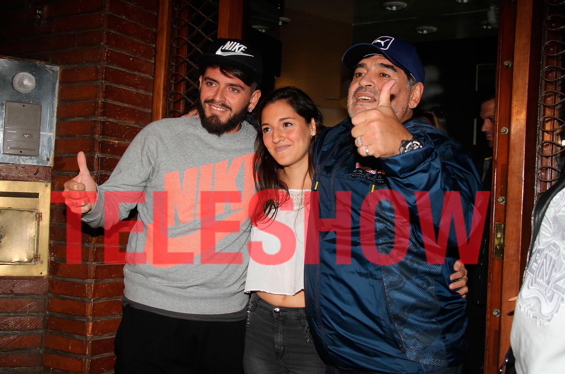 Maradona reconoció a su hijo italiano