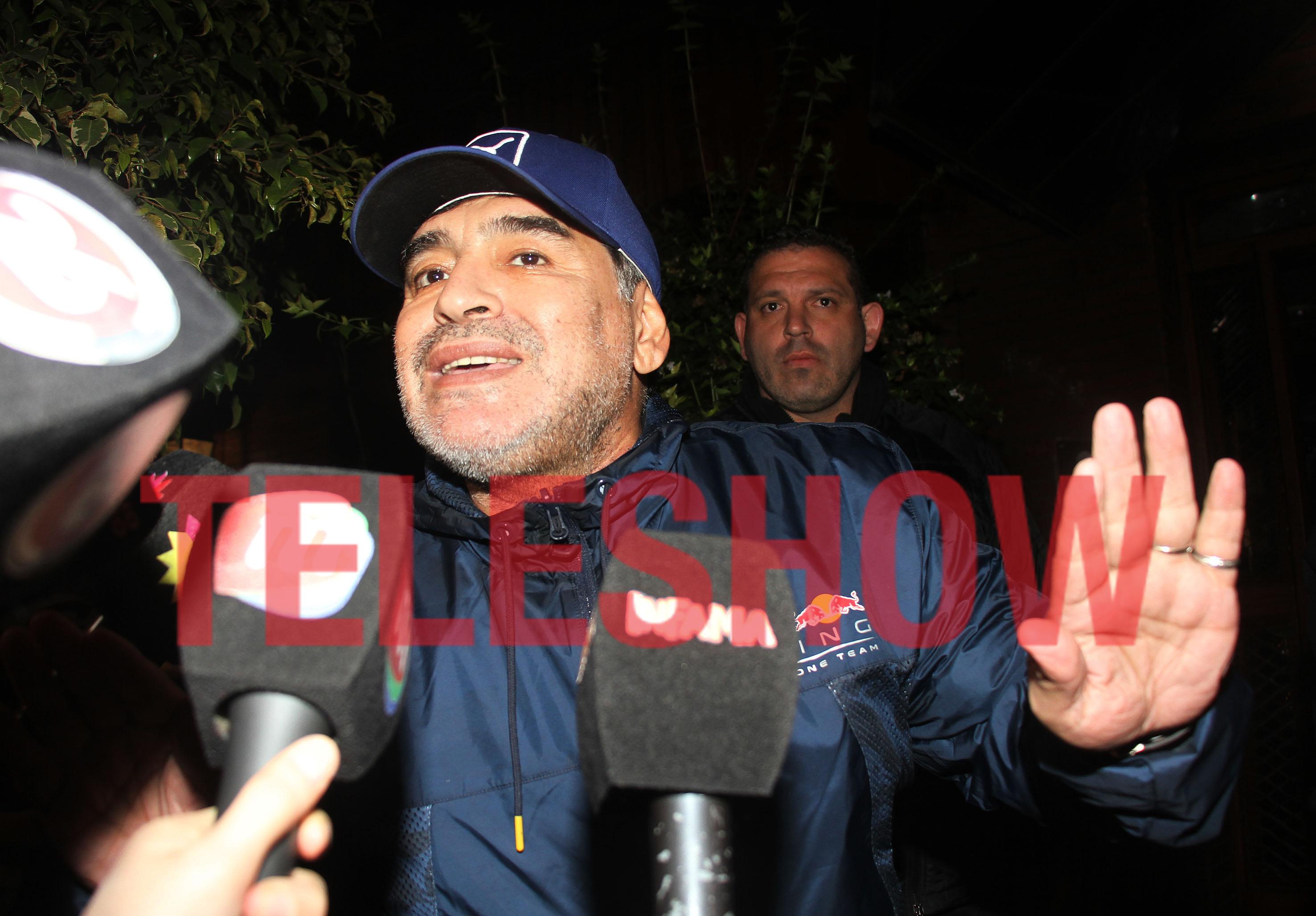 Maradona invitó a cenar a Diego Junior a la casa donde solían vivir sus padres