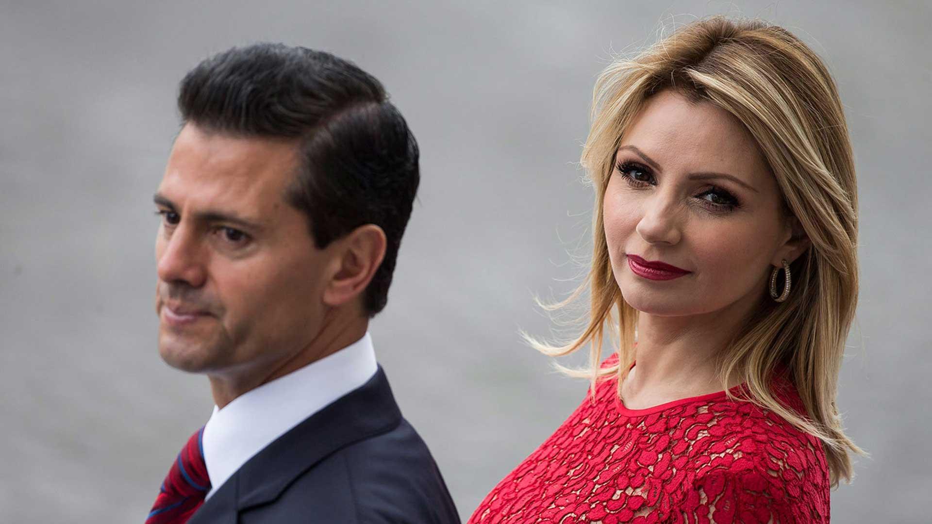 Enrique Peña Nieto y su esposa, Angélica Rivera (Foto: Archivo)
