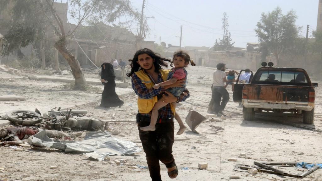 El barrio de Bab al-Nairab en Alepo tras el bombardeo de las tropas de al Assad (Reuetrs)
