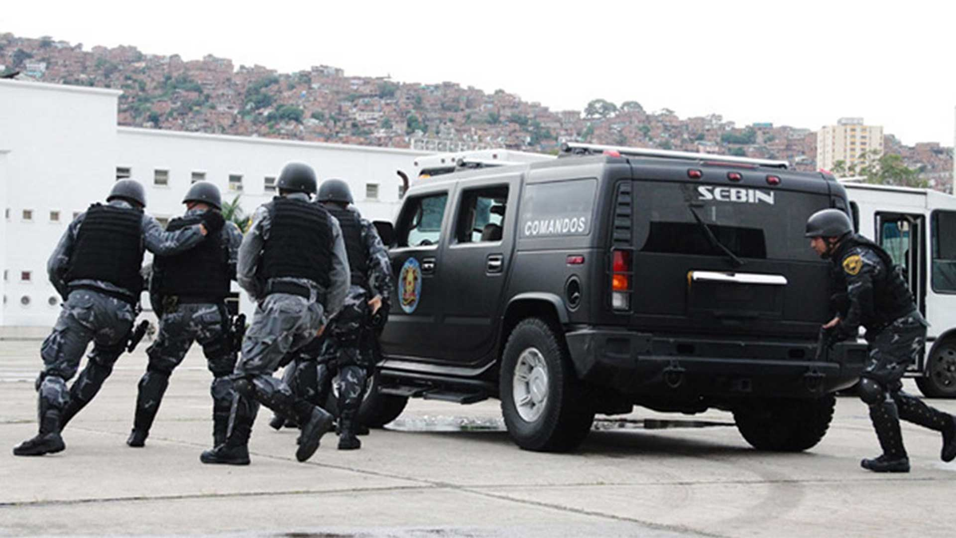 Agentes del Sebin (Archivo)
