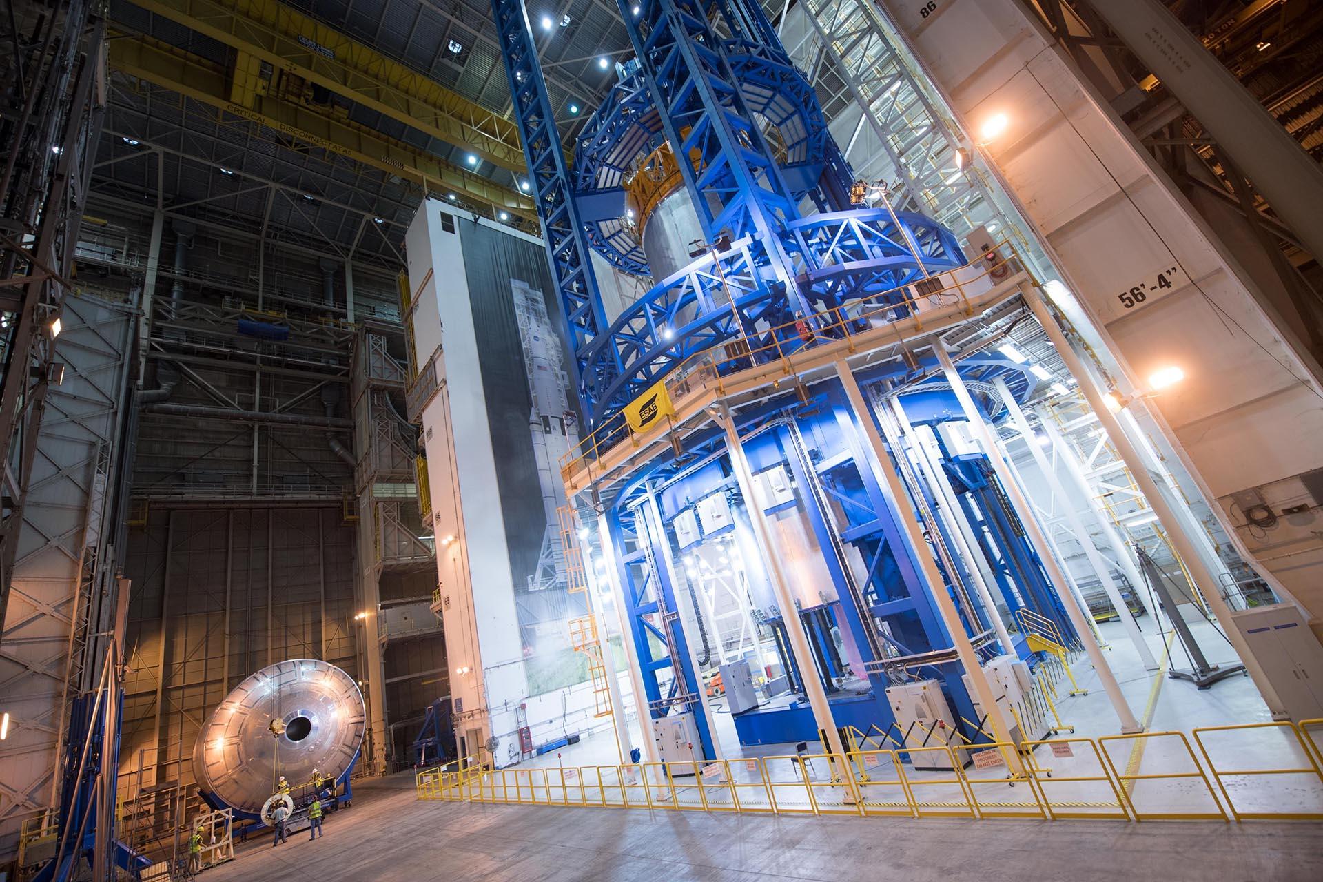 Este cohete formará parte del Sistema de Lanzamiento Espacial de la NASA (SLS, por sus siglas en inglés), y sus pruebas han sido tan complicadas para la agencia estadounidense que tuvieron que probarlo parte a parte