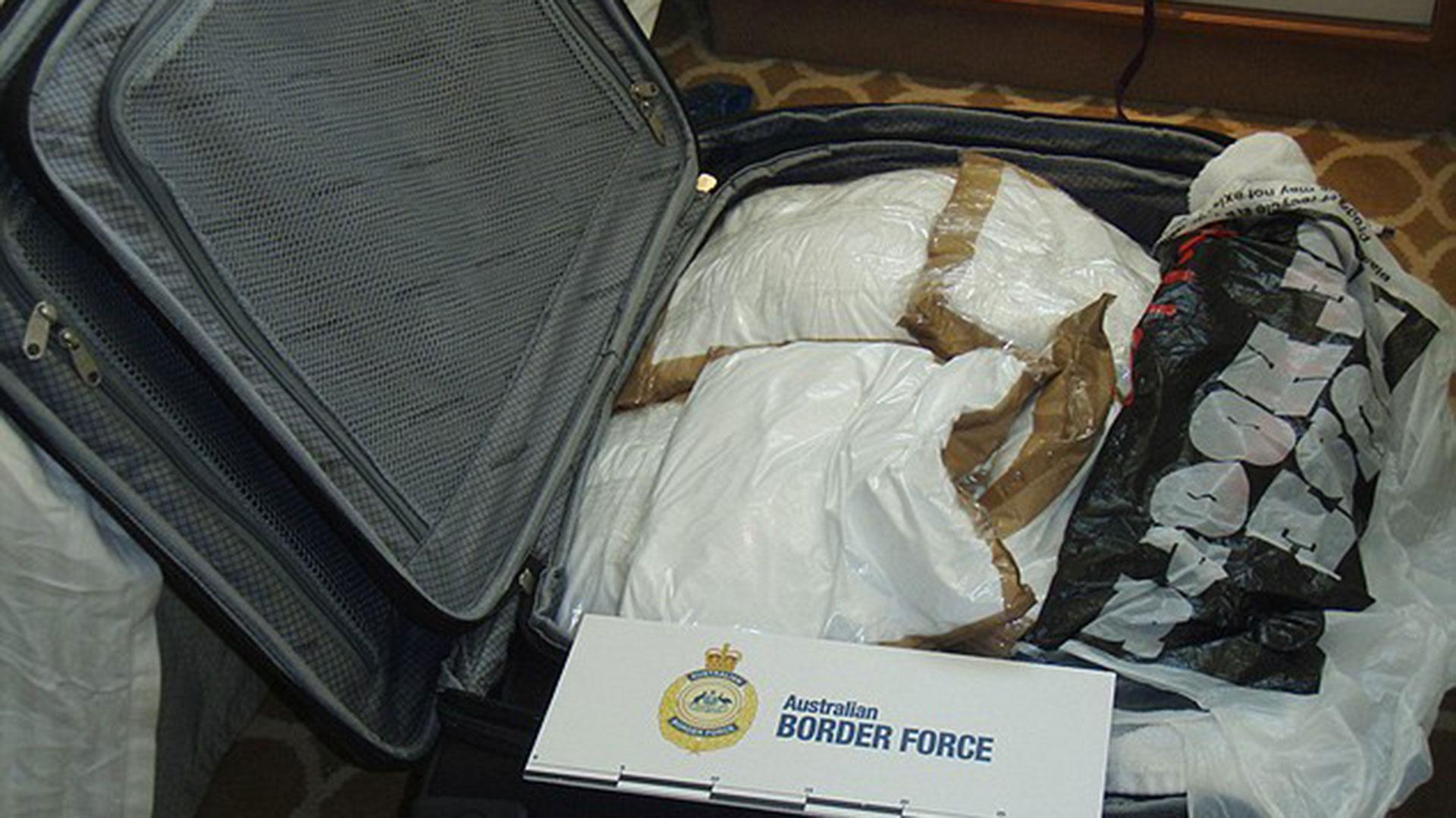 Al llegar a Sídney, las mujeres y otros cinco hombres fueron detenidos. En total transportaban casi 100 kilogramos de cocaína (AFP)