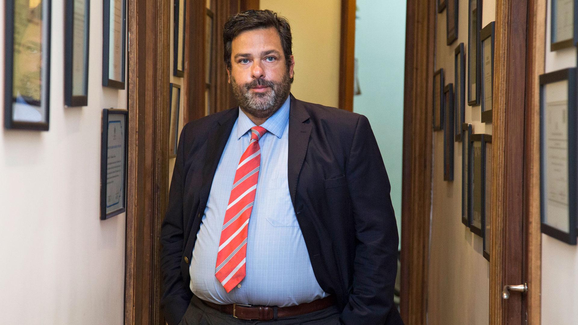 El abogado Maximiliano Rusconi (NA)