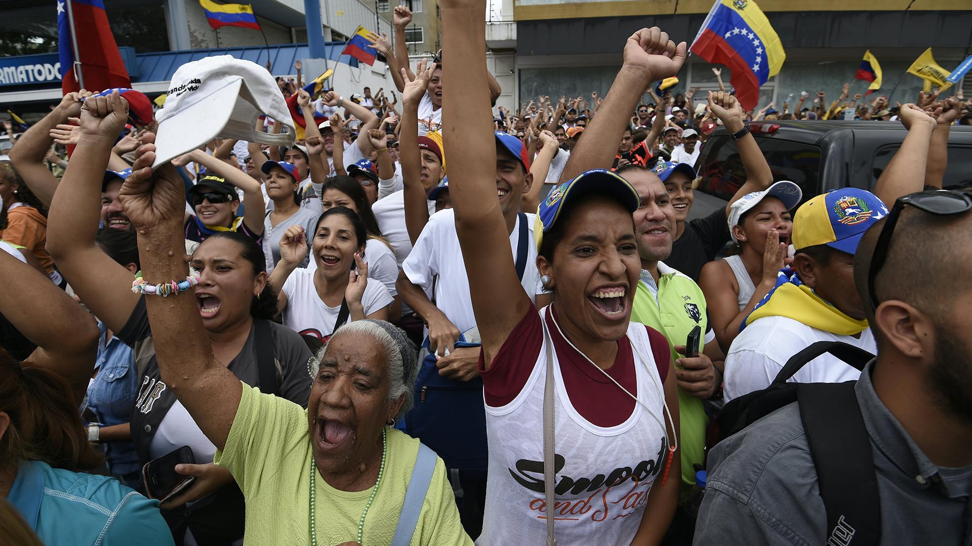Leopoldo López está en prisión en el penal de Ramo Verde (AFP)