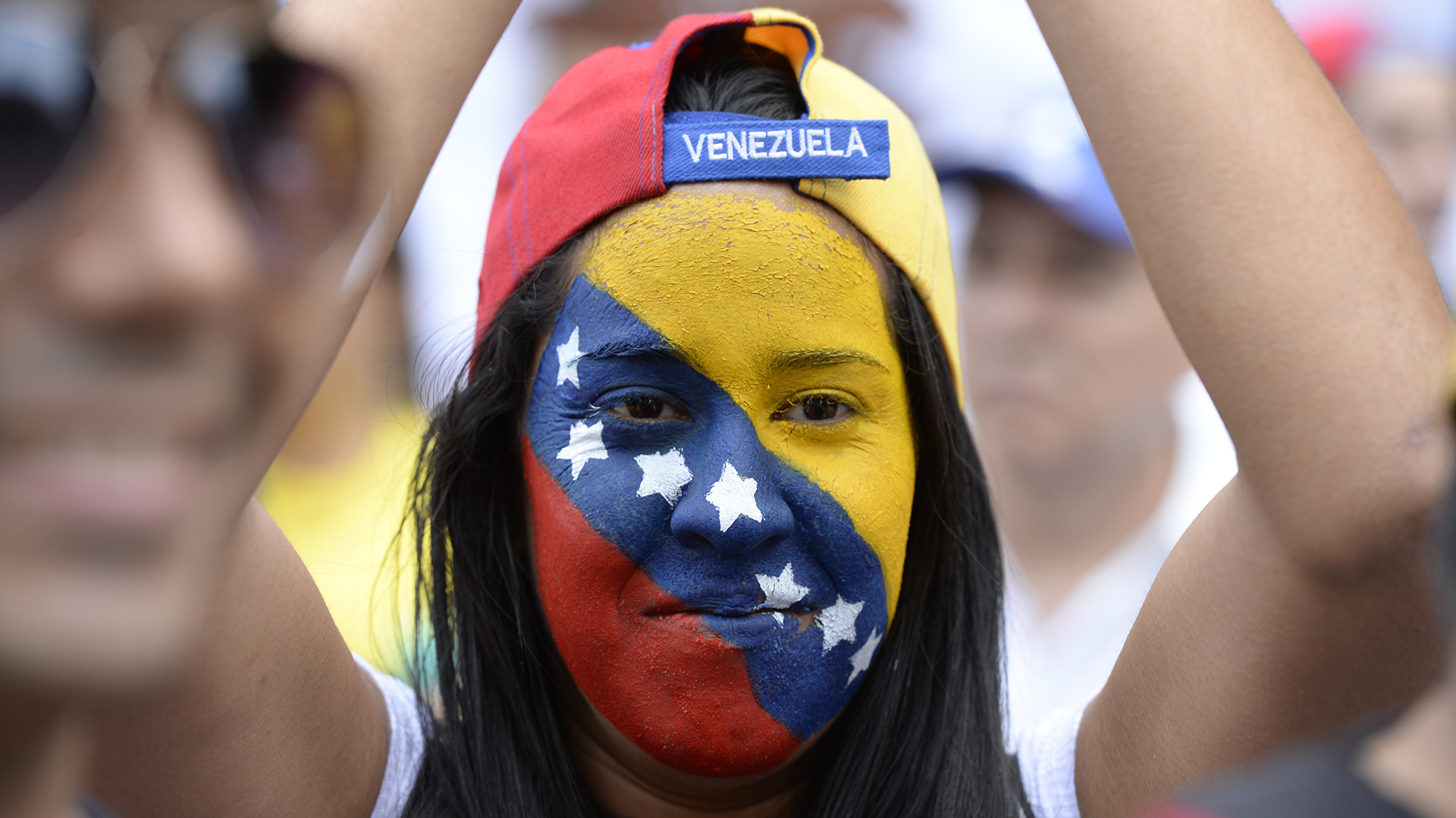 Los presos políticos: Leopoldo López y Daniel Ceballos son los casos emblema de líderes opositores encarcelados por el presidente Nicolás Maduro (AFP)